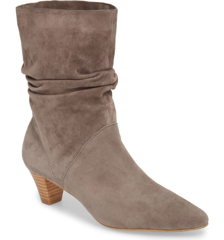 Nica Slouchy Boot,                         Main,                         color, LIGHT CHARCOAL SUEDE