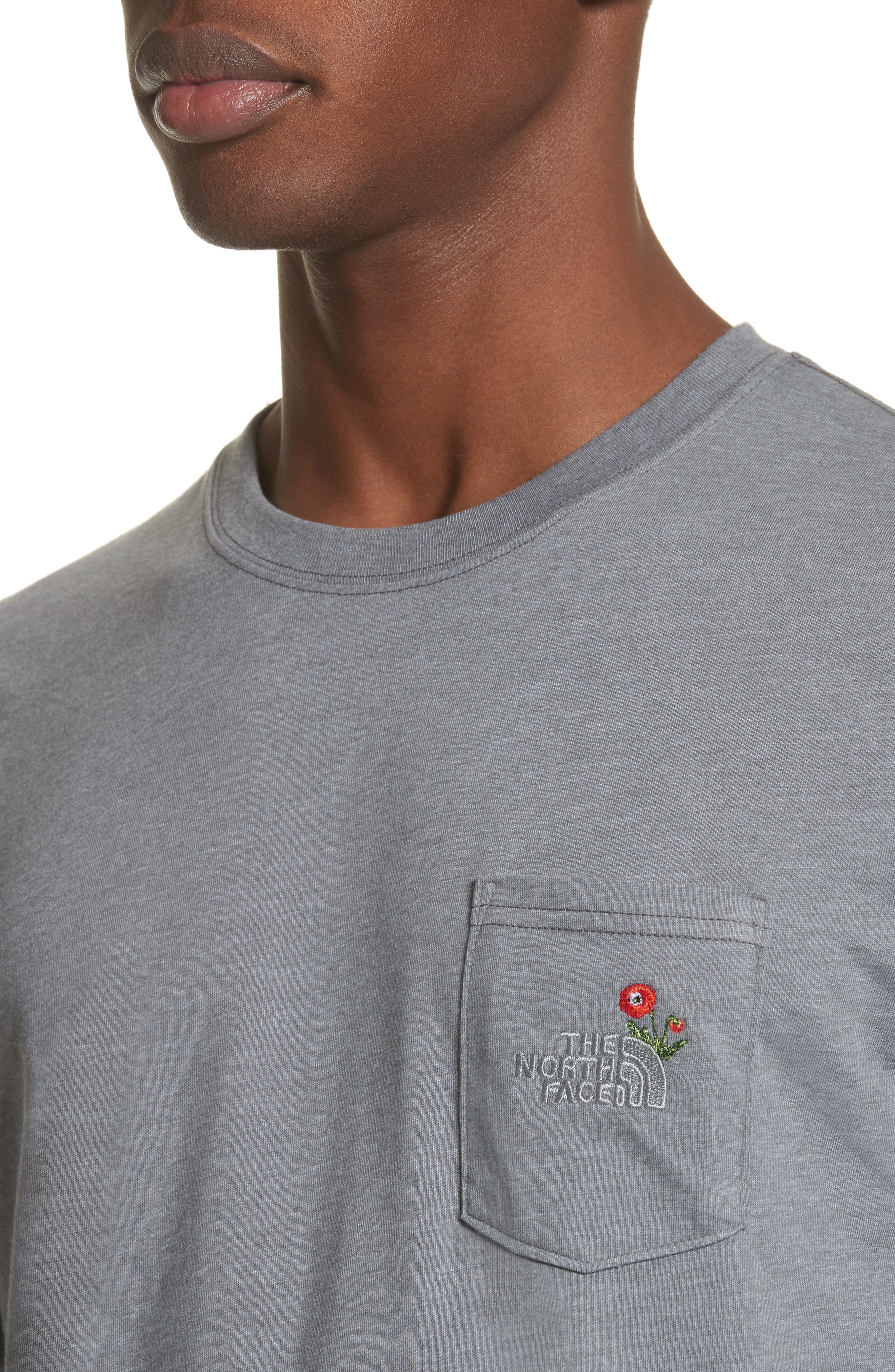 Unisex Pocket T-Shirt,                             Alternate thumbnail 4, color,                             030