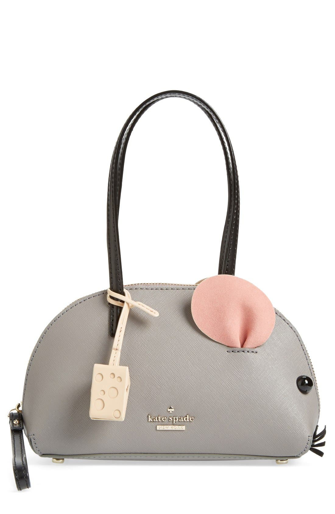'cat's meow' mouse bag, Main, color, 025