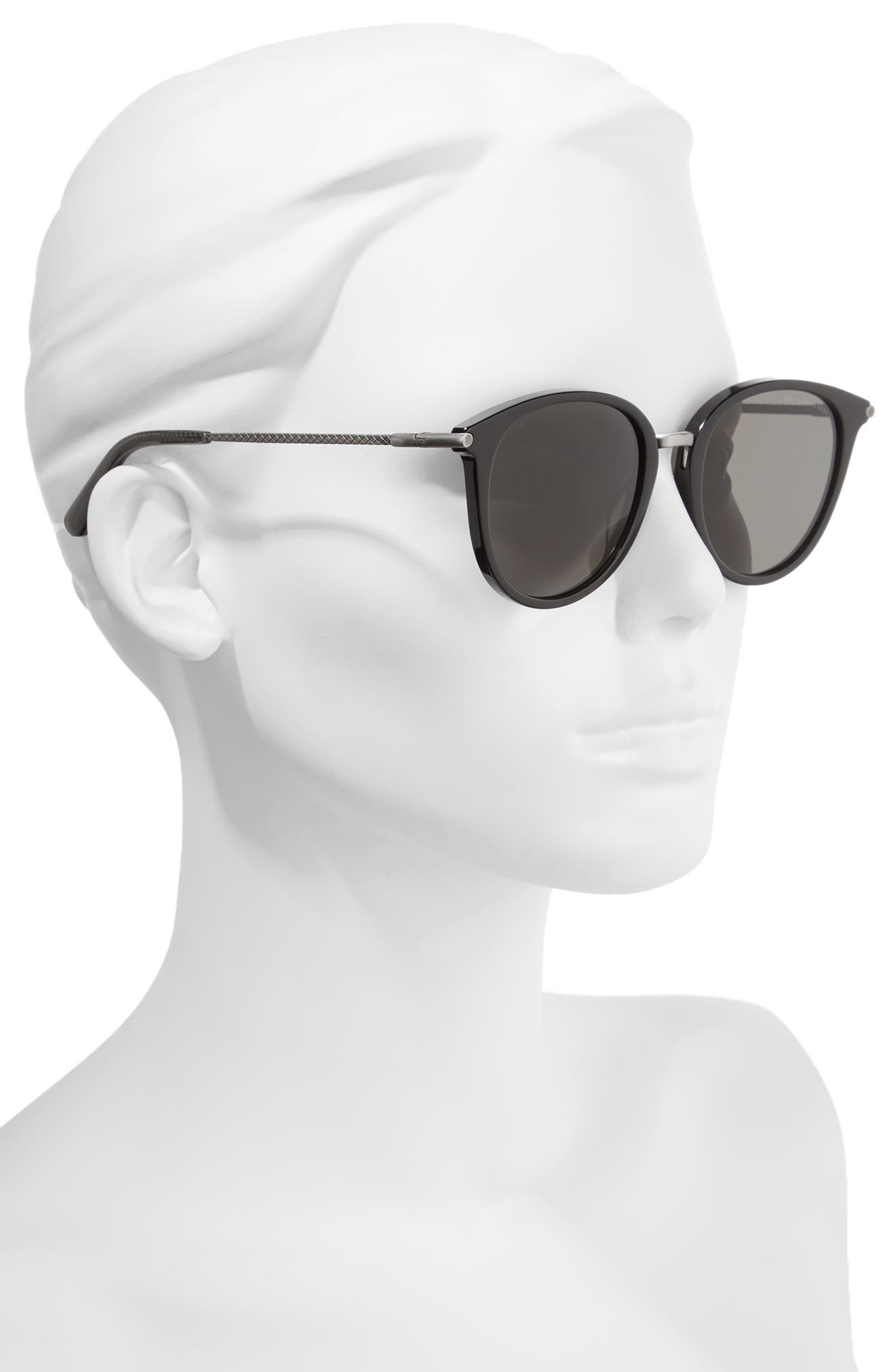 53mm Sunglasses,                             Alternate thumbnail 2, color,                             GREY/ SILVER