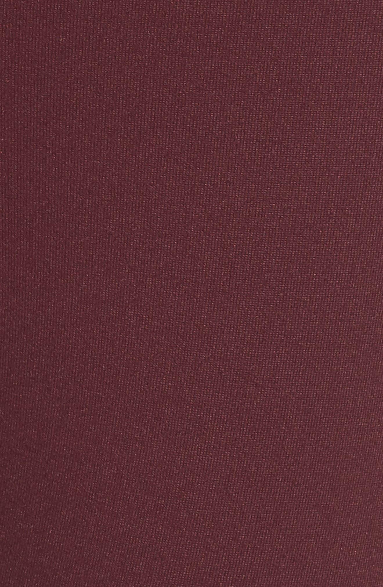 High Waist Lattice Midi Leggings,                             Alternate thumbnail 31, color,