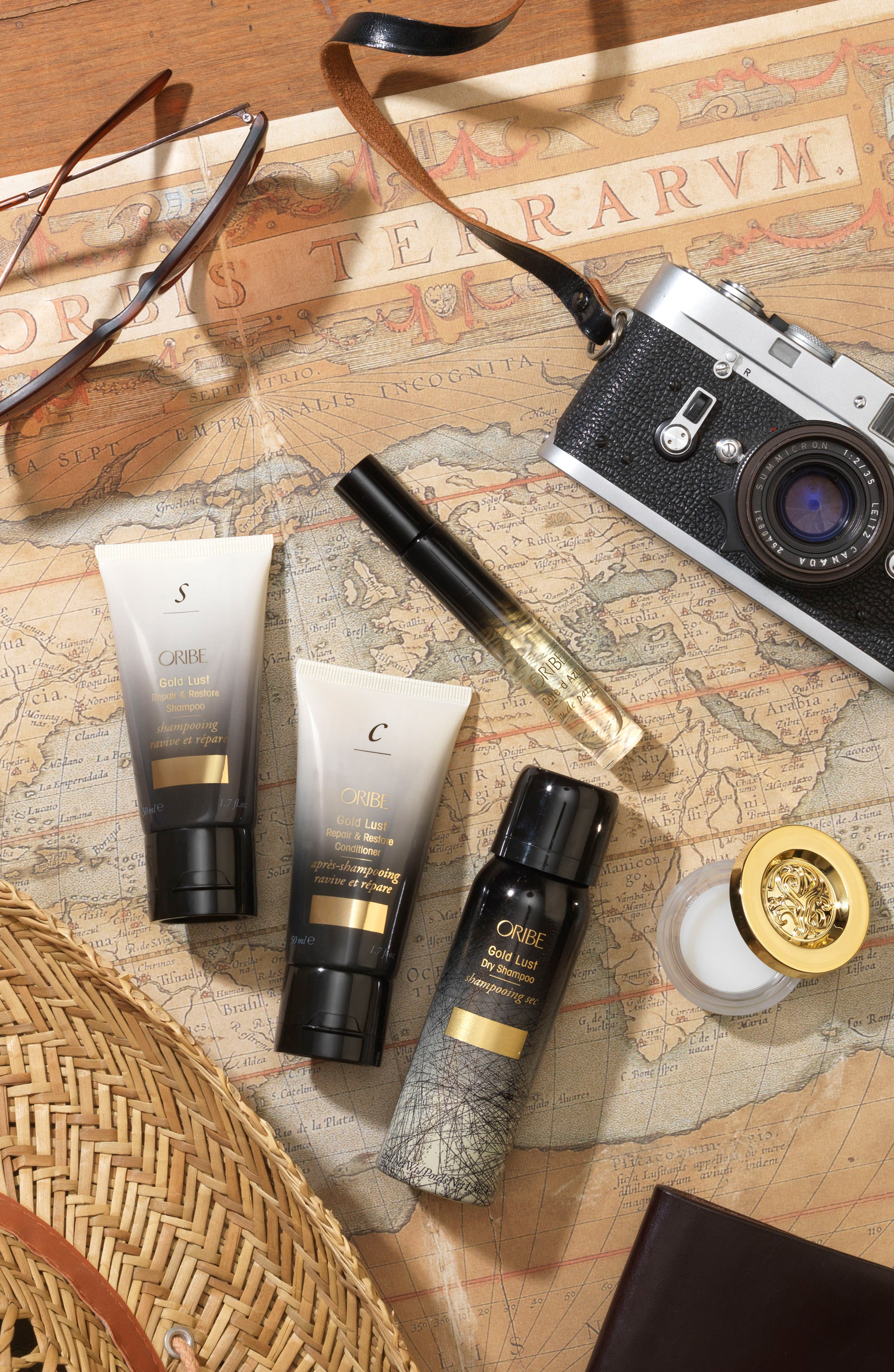 SPACE.NK.apothecary Oribe Traveler Set,                             Alternate thumbnail 8, color,                             000