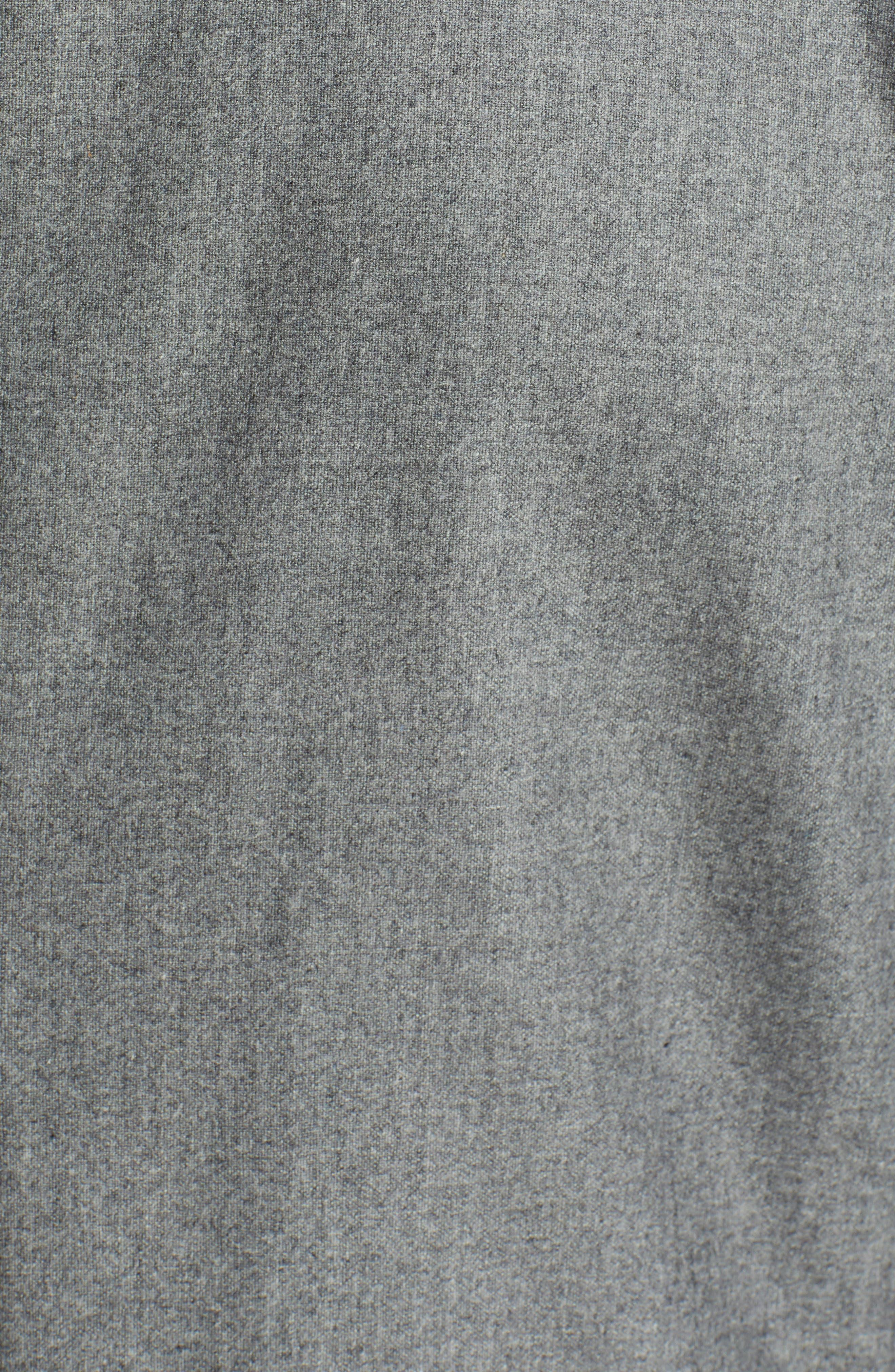 Nold Trim Fit Stretch Wool Blend Blazer,                             Alternate thumbnail 6, color,                             MEDIUM GREY