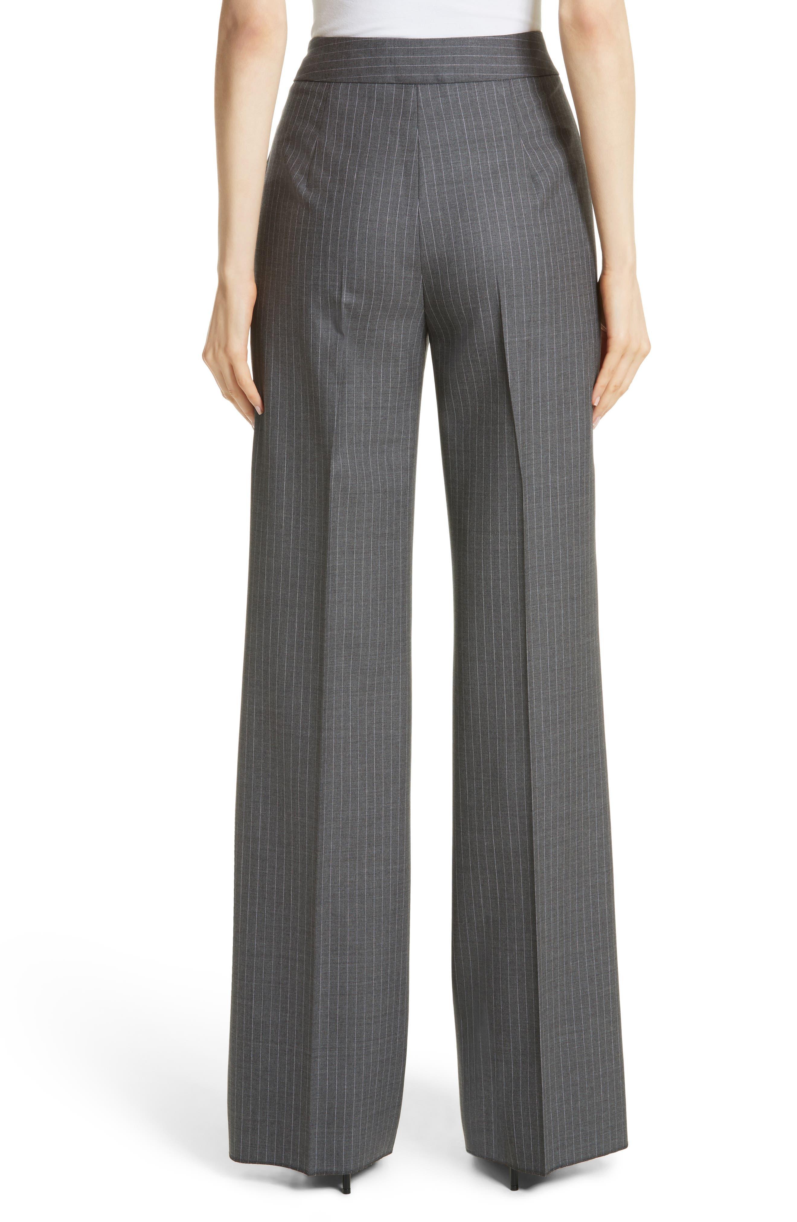 Garibo Stretch Wool Pinstripe Pants,                             Alternate thumbnail 2, color,