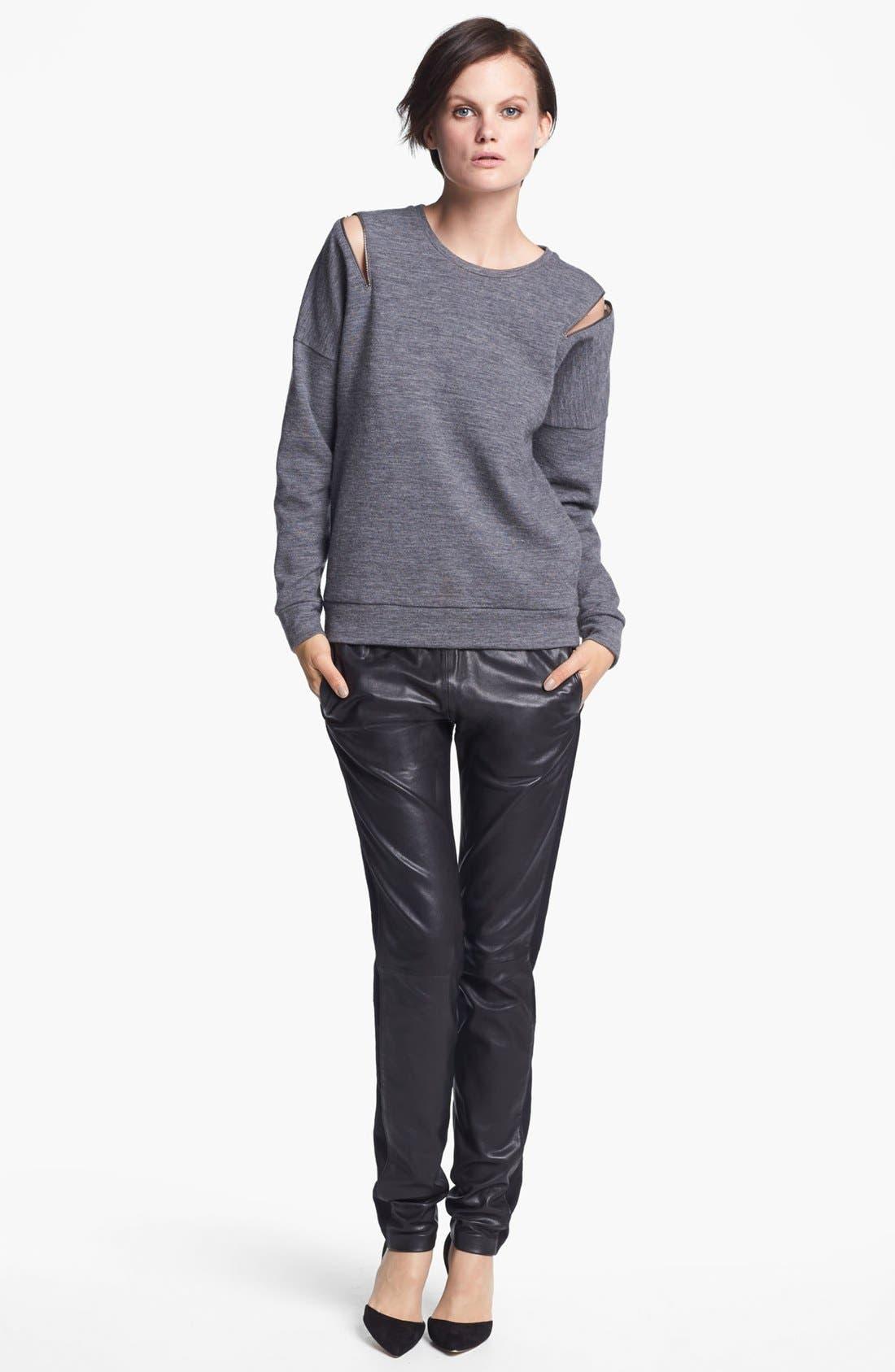 J BRAND READY-TO-WEAR 'Katarina' Sweatshirt, Main, color, 030