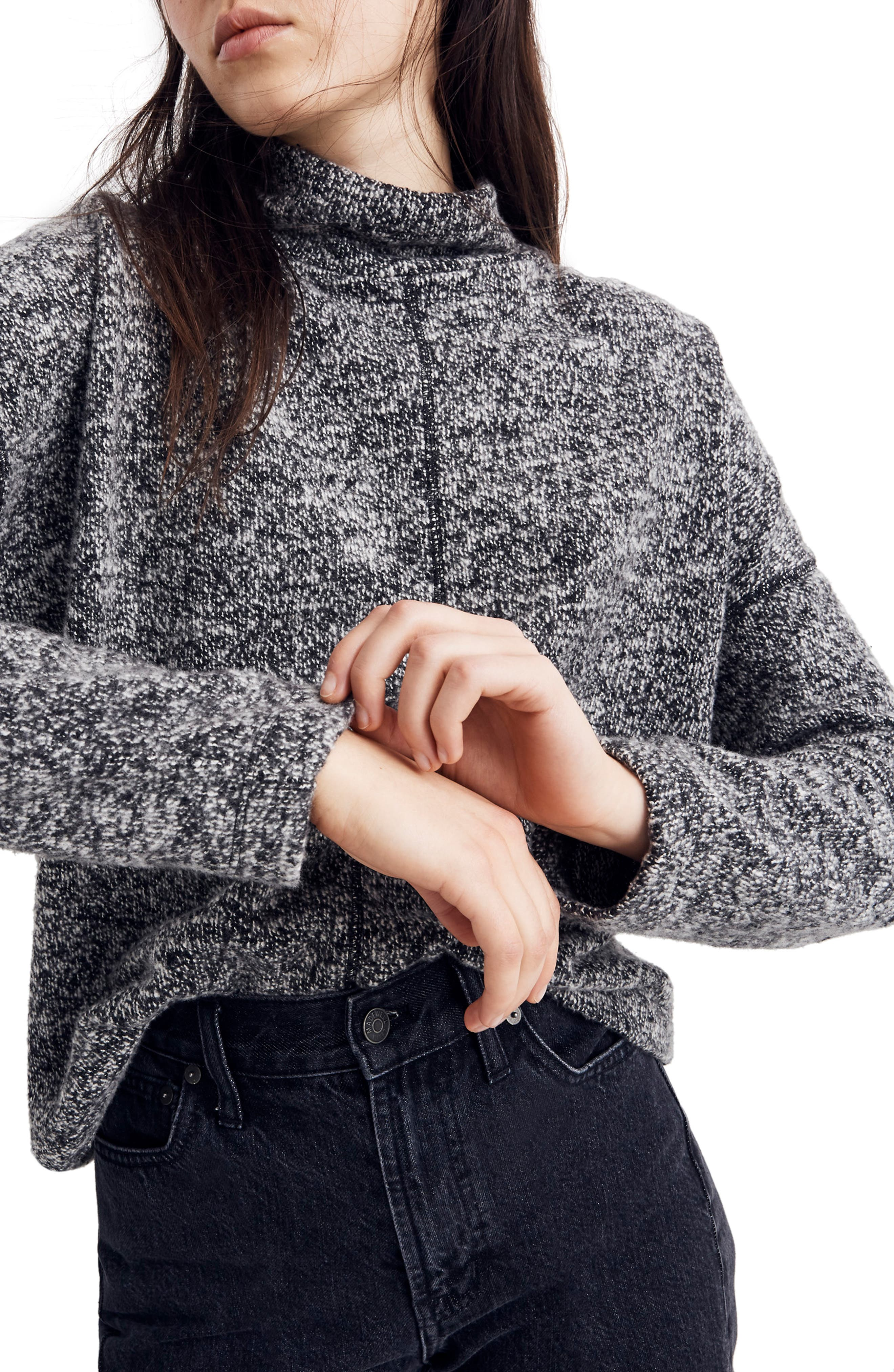 Marled Mock Neck Top by Madewell