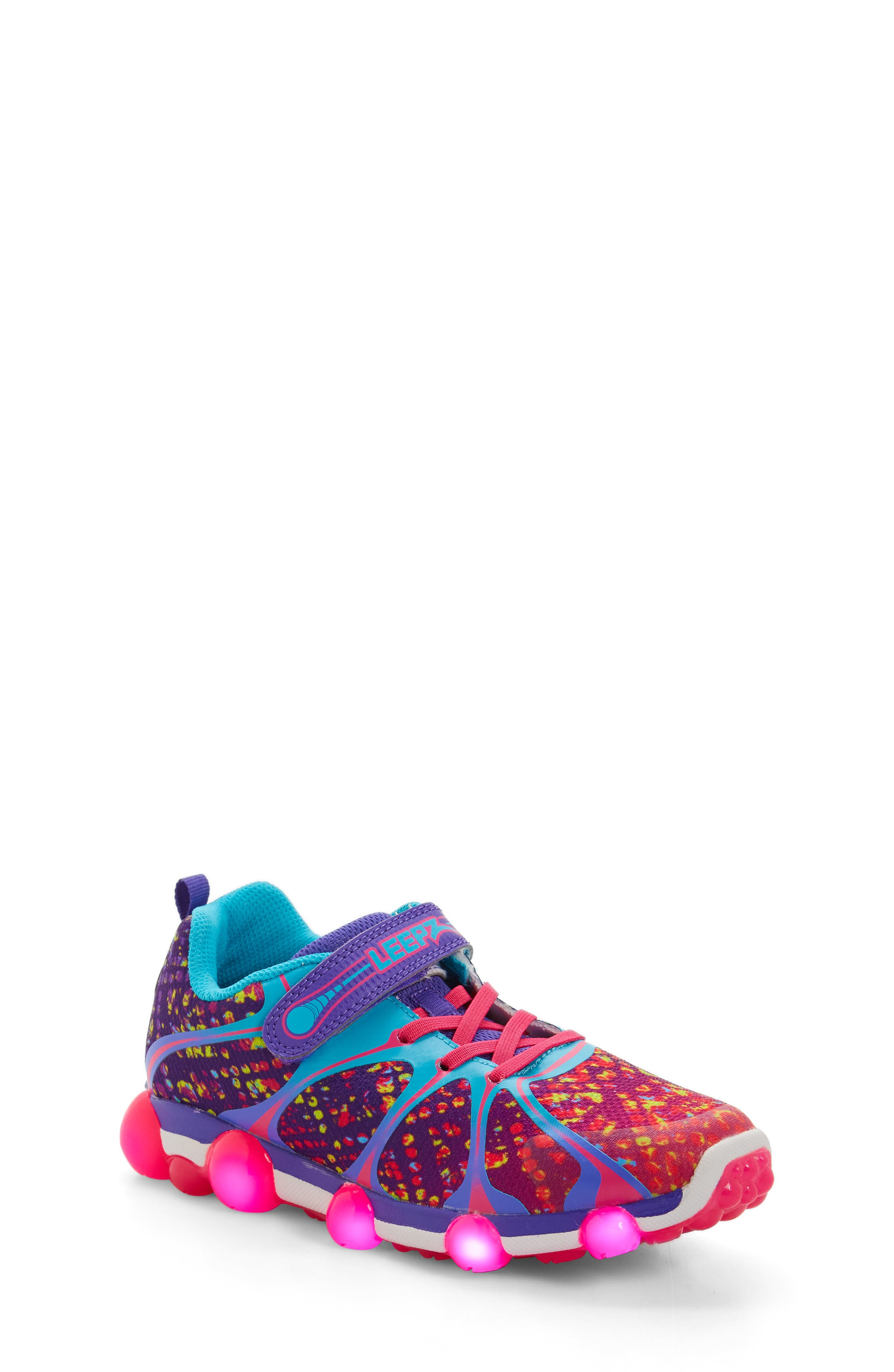 'Leepz' Light-Up Sneaker,                             Alternate thumbnail 7, color,                             540