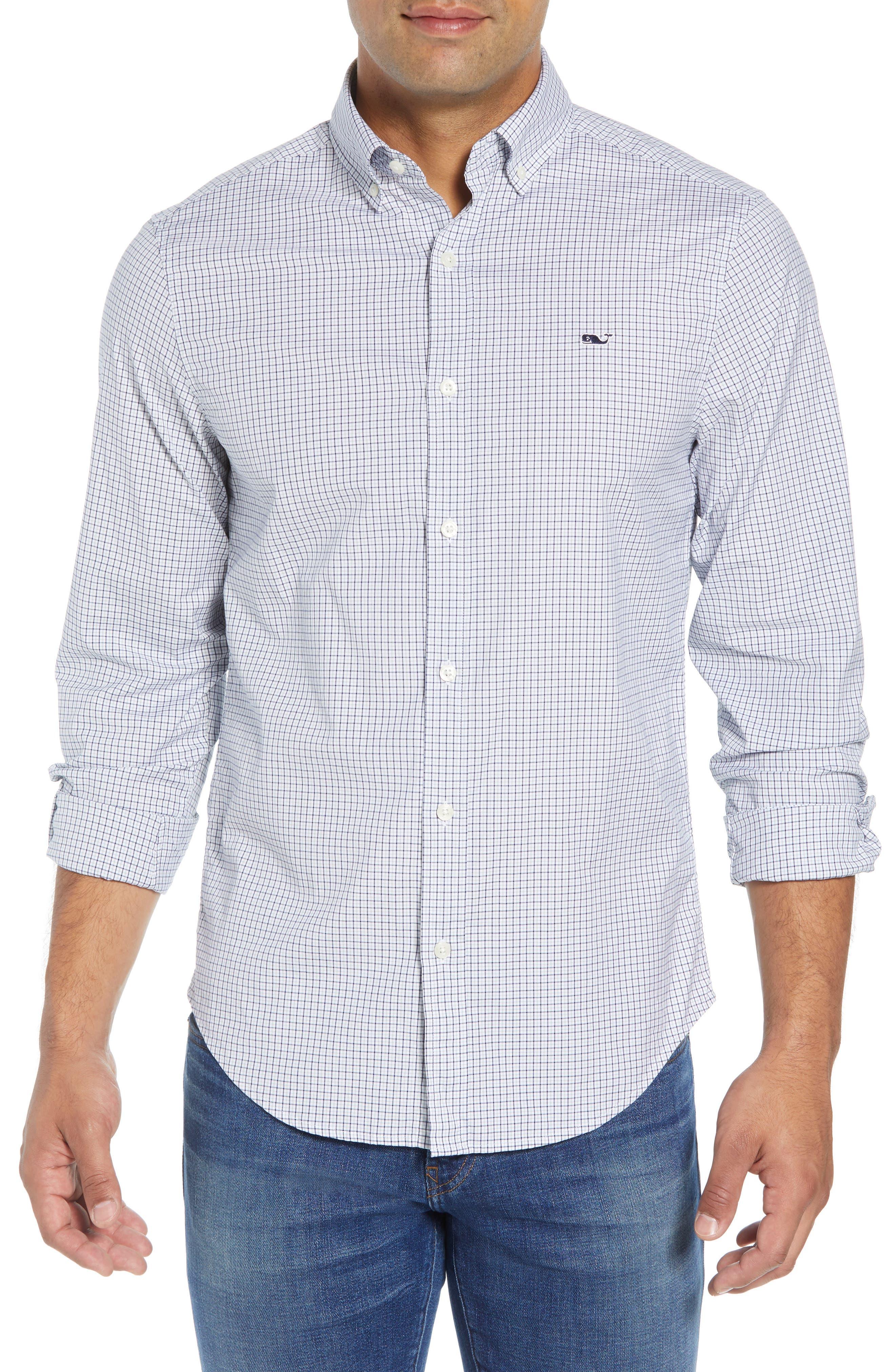 Beechcroft Regular Fit Check Sport Shirt,                             Main thumbnail 1, color,                             034