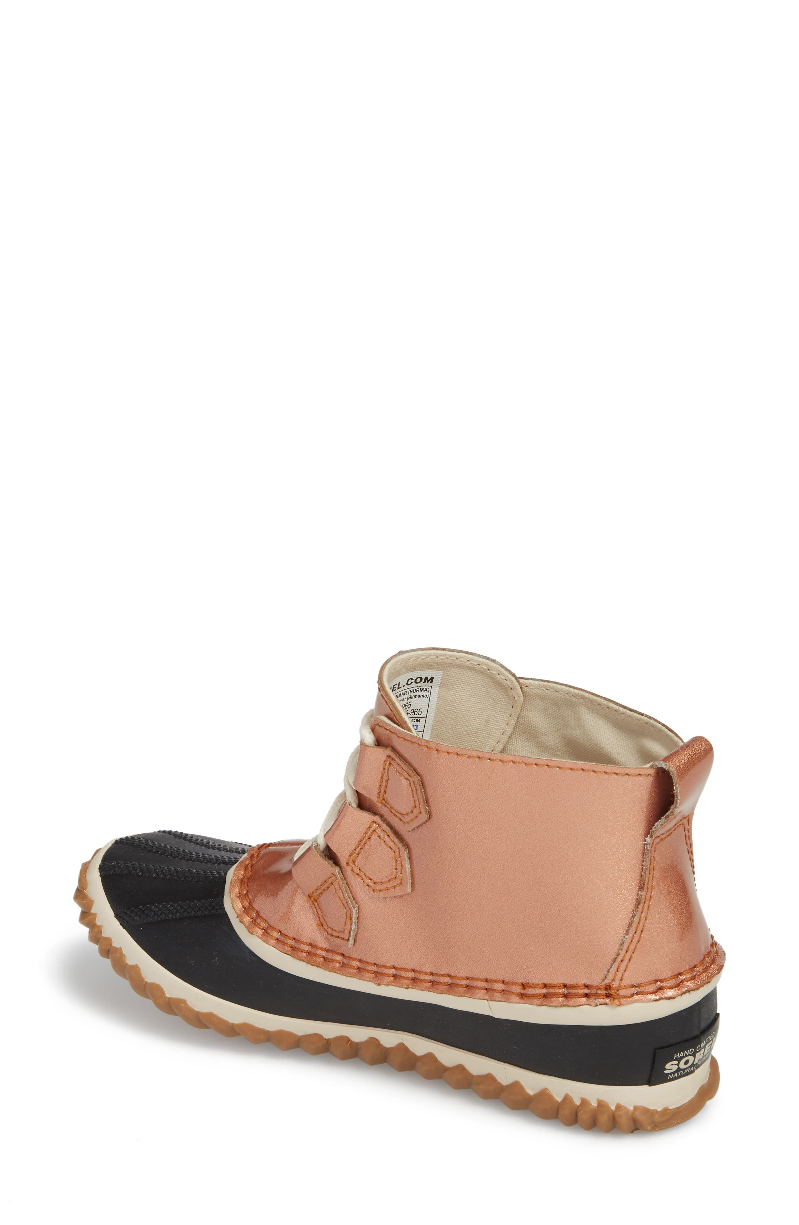'Out N About' Leather Boot,                             Alternate thumbnail 12, color,