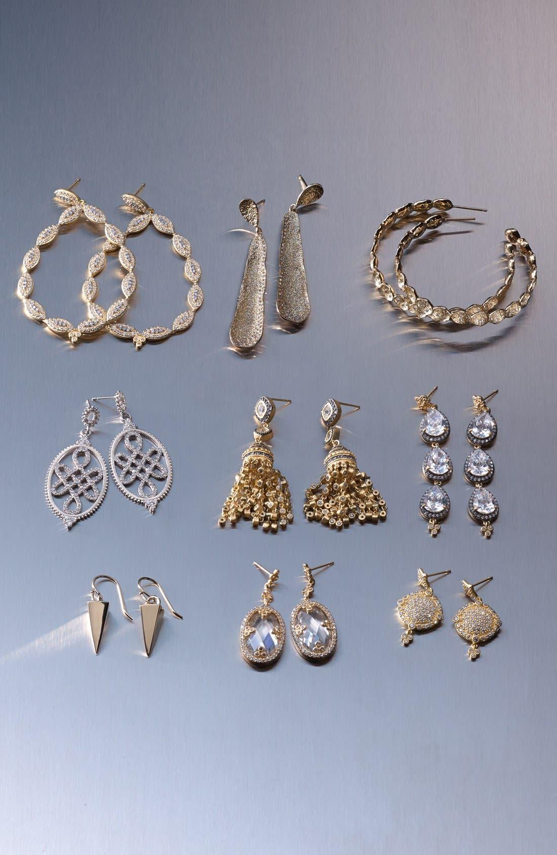 'Femme' Linear Earrings,                             Alternate thumbnail 4, color,                             710