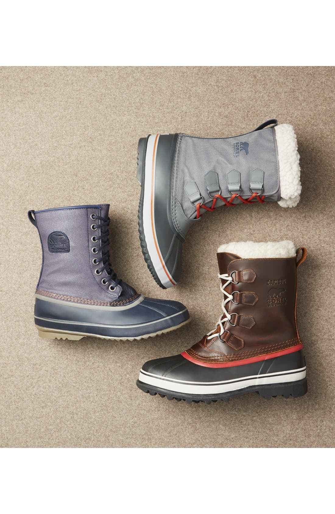 '1964 PAC' Snow Boot,                             Alternate thumbnail 5, color,                             DARK FOG/ SHARK GREY
