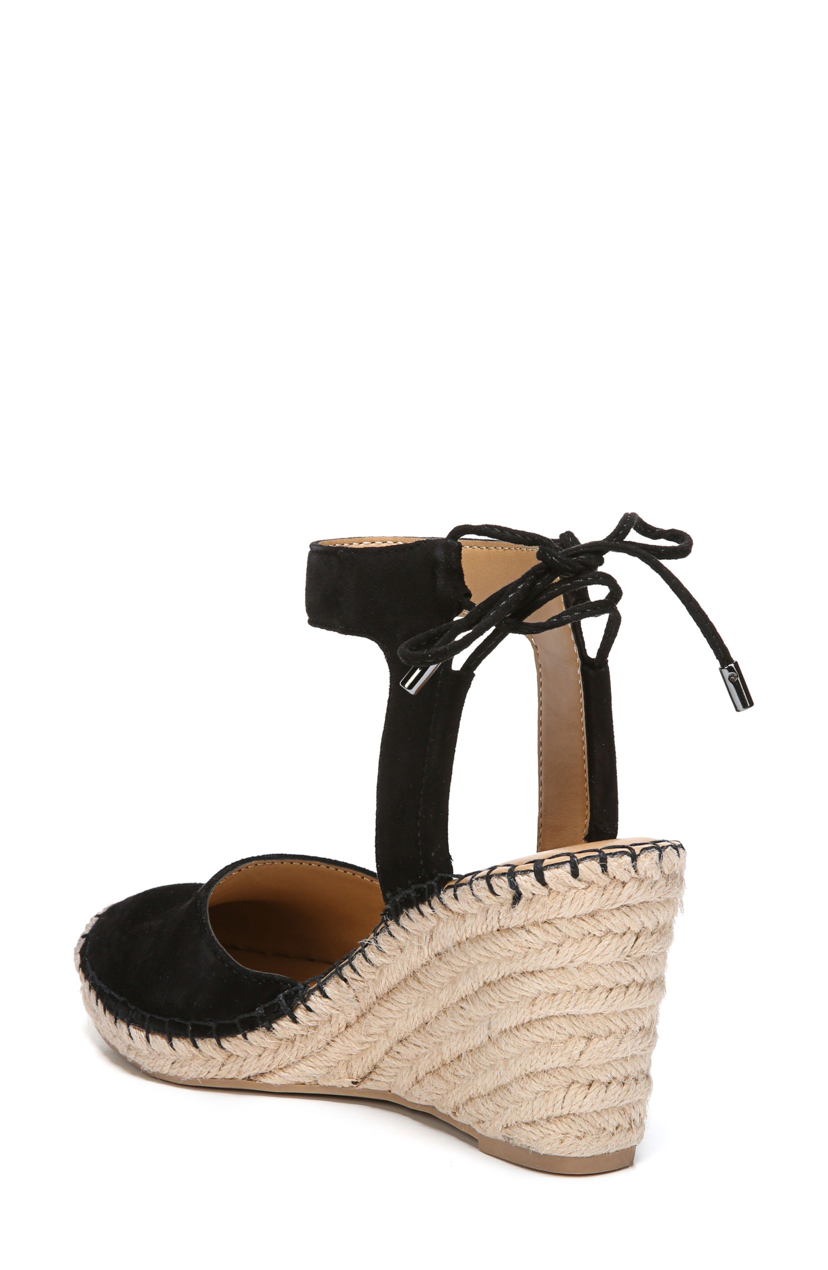 Mariska Espadrille Wedge Sandal,                             Alternate thumbnail 2, color,                             002