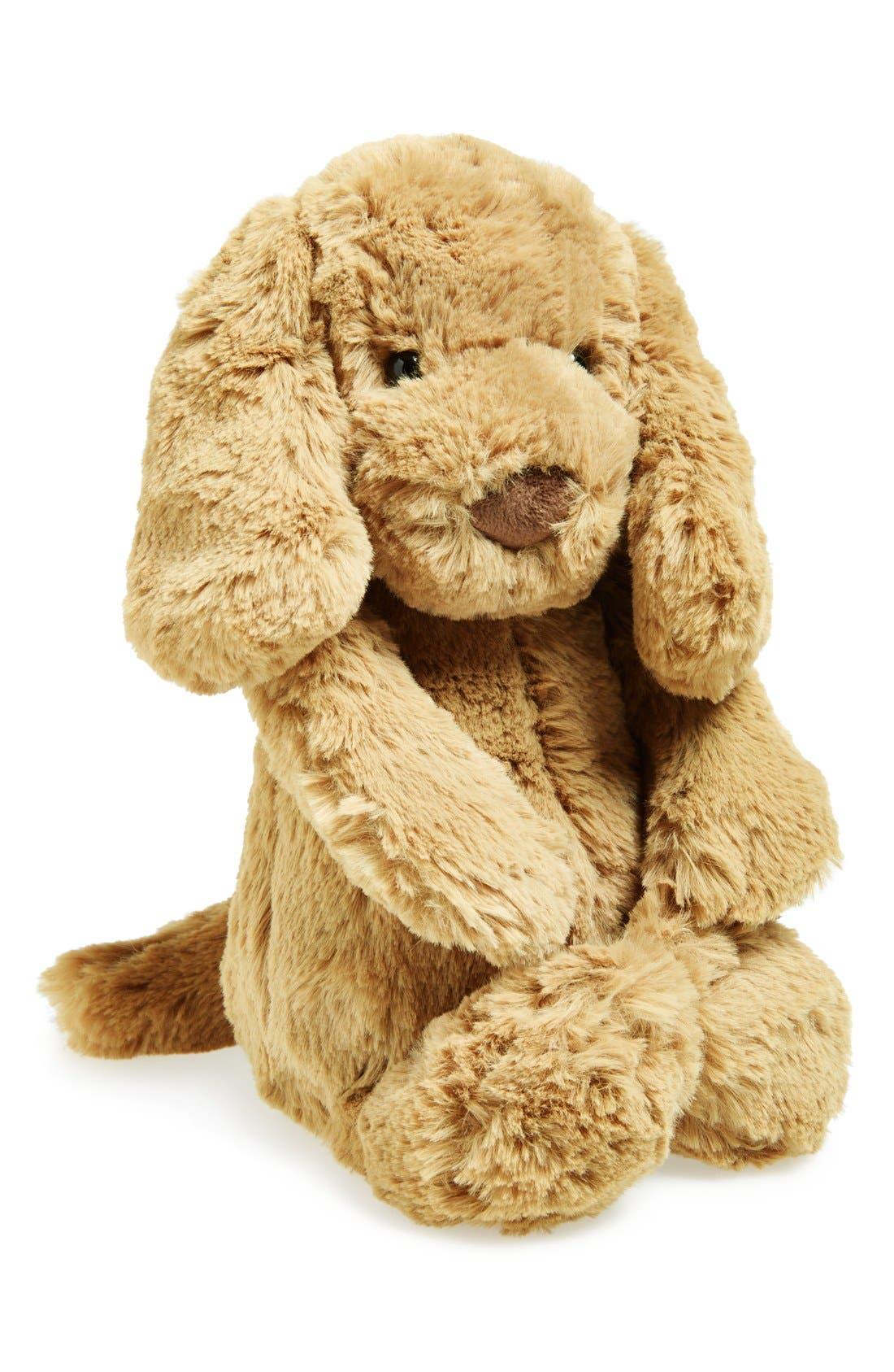 'Bashful' Puppy Stuffed Animal,                             Main thumbnail 2, color,