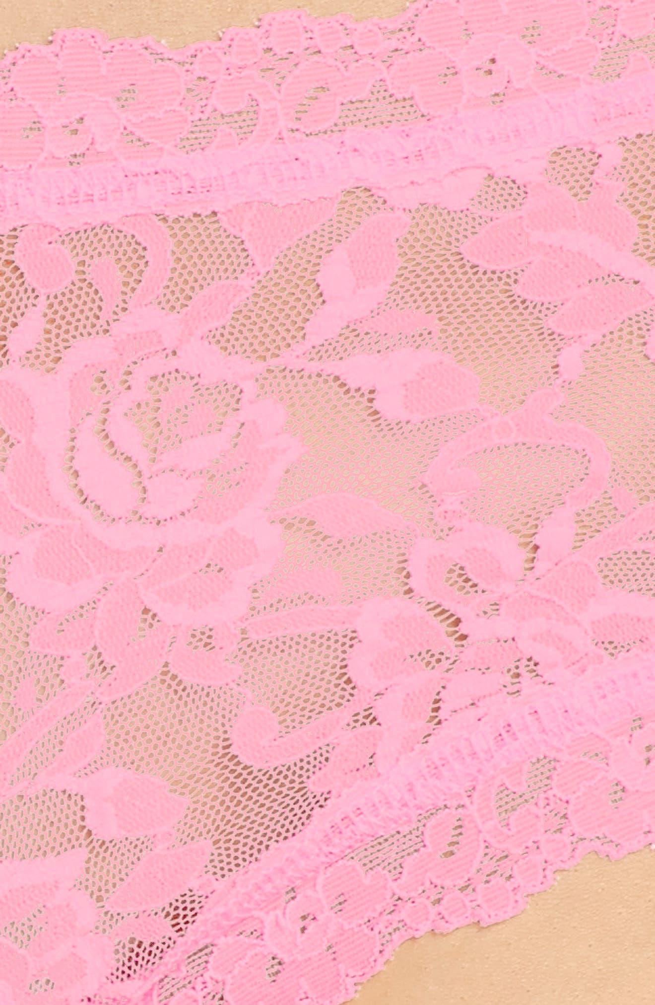 'Signature Lace' Boyshorts,                             Alternate thumbnail 416, color,