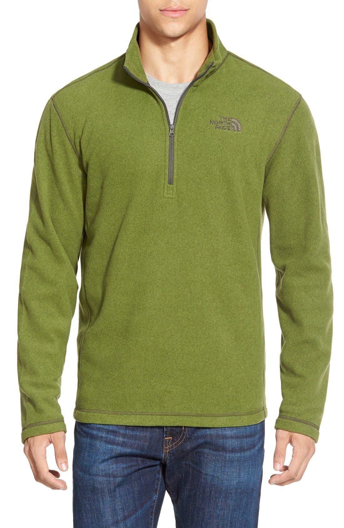 'TKA 100 Glacier' Quarter Zip Fleece Pullover,                             Main thumbnail 28, color,