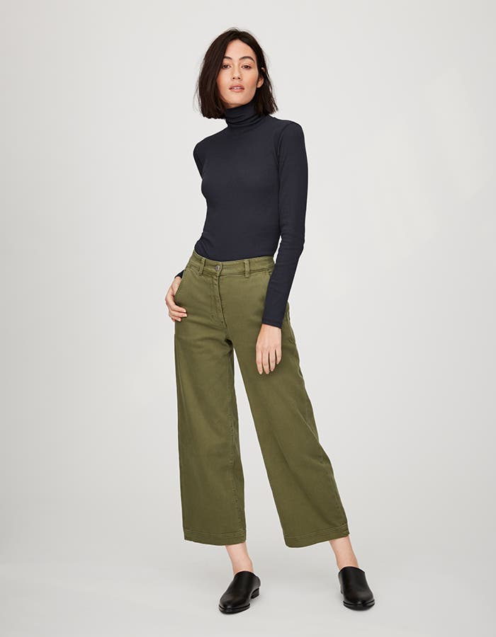 Pop-In@Nordstrom Welcomes Everlane: Women's wide-leg crop pants, $68.