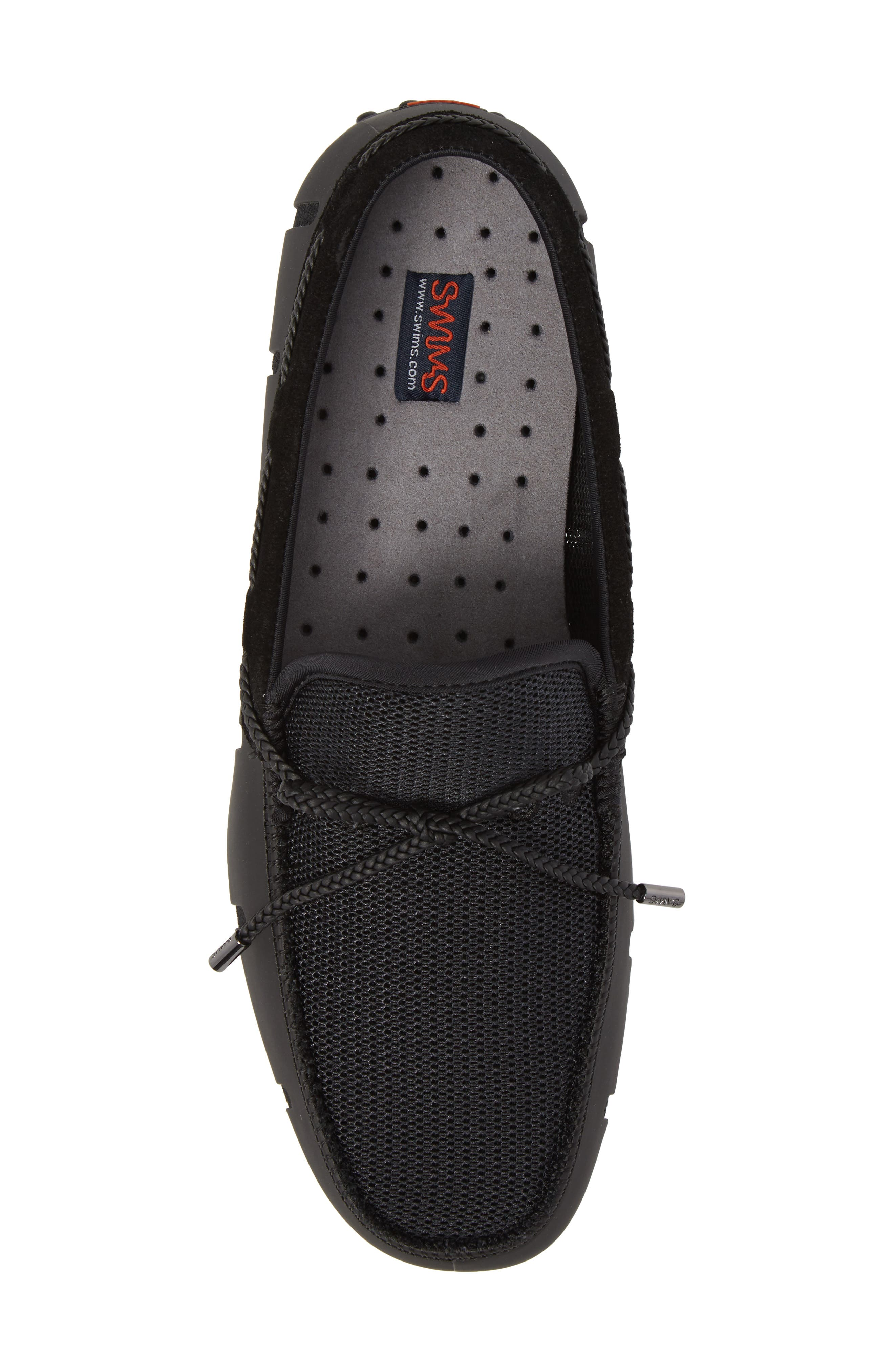 Driving Shoe,                             Alternate thumbnail 5, color,                             BLACK/ GRAPHITE