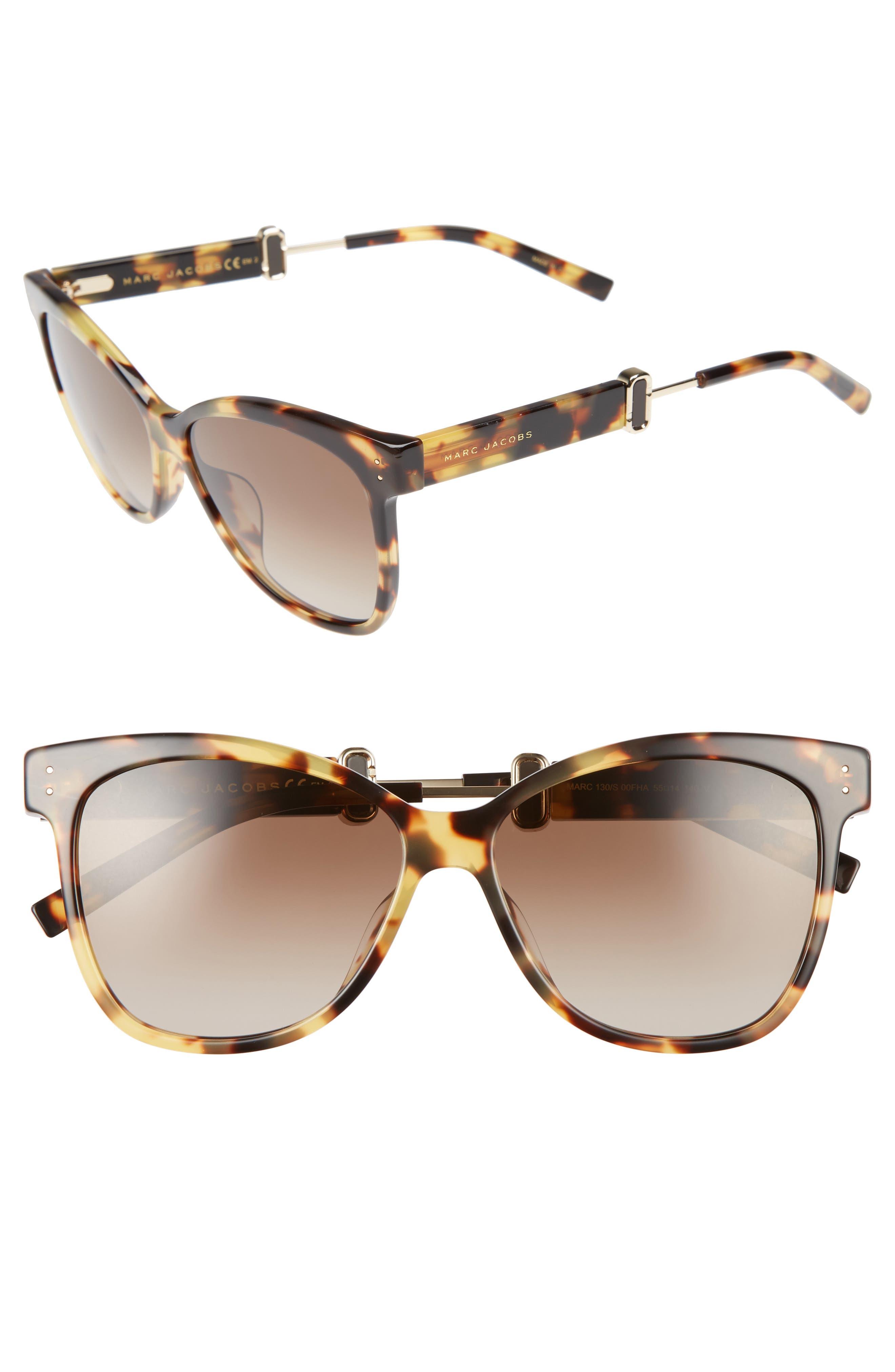 55mm Sunglasses,                             Alternate thumbnail 6, color,