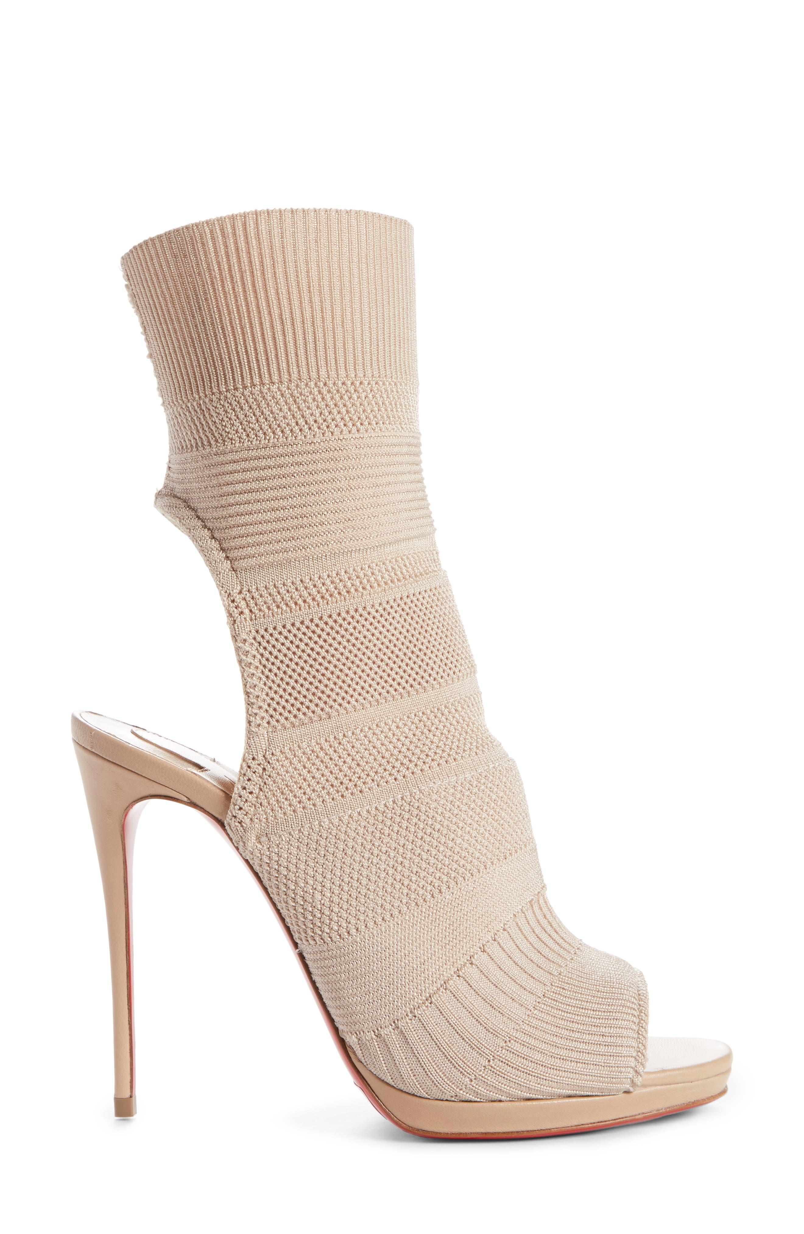 Cheminene Sock Sandal,                             Alternate thumbnail 6, color,