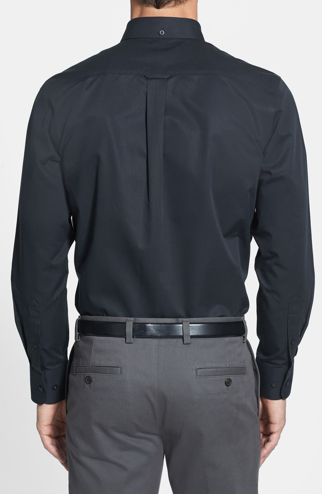 Smartcare<sup>™</sup> Traditional Fit Twill Boat Shirt,                             Alternate thumbnail 45, color,