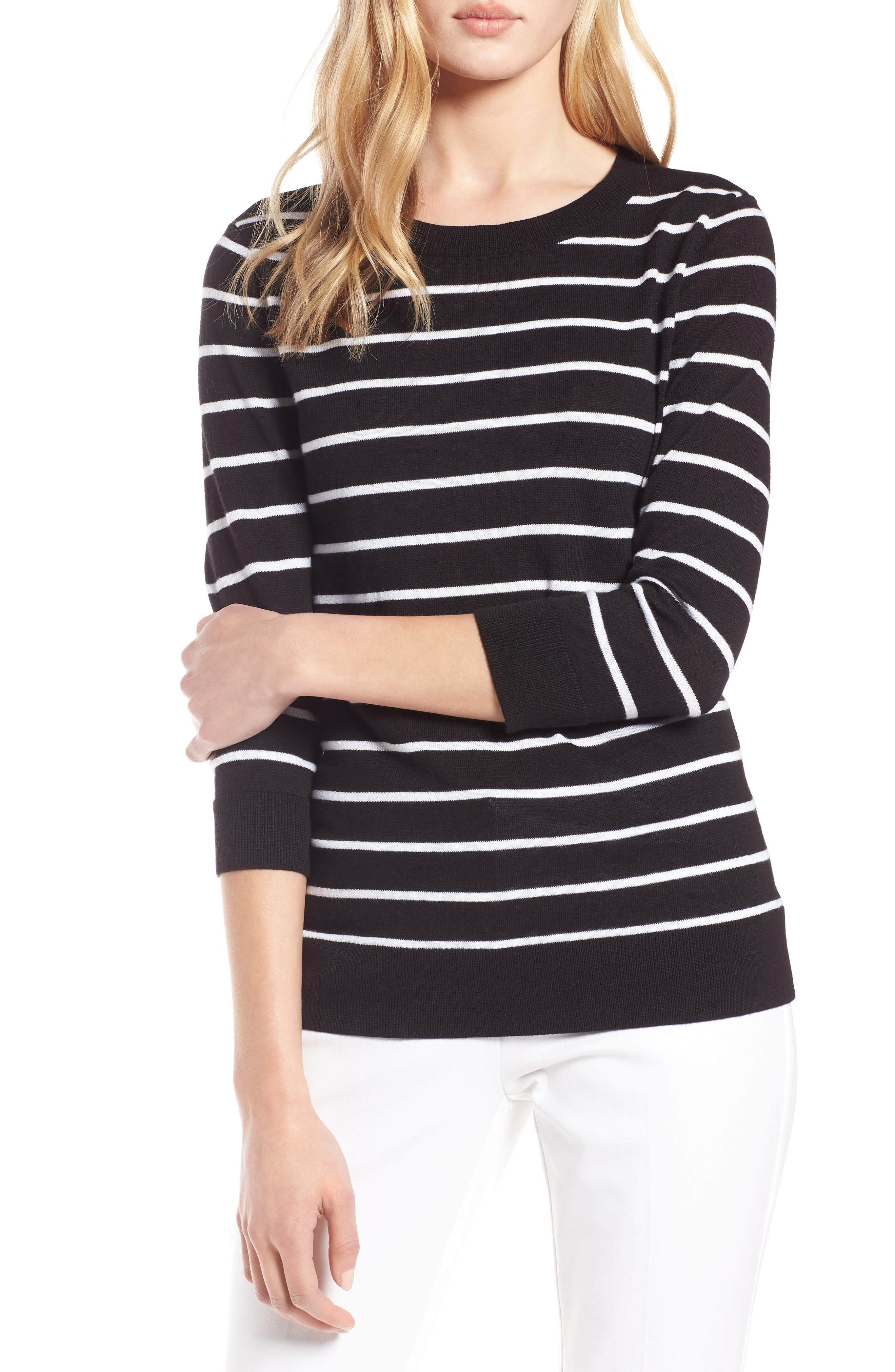 Cotton Blend Pullover,                         Main,                         color,