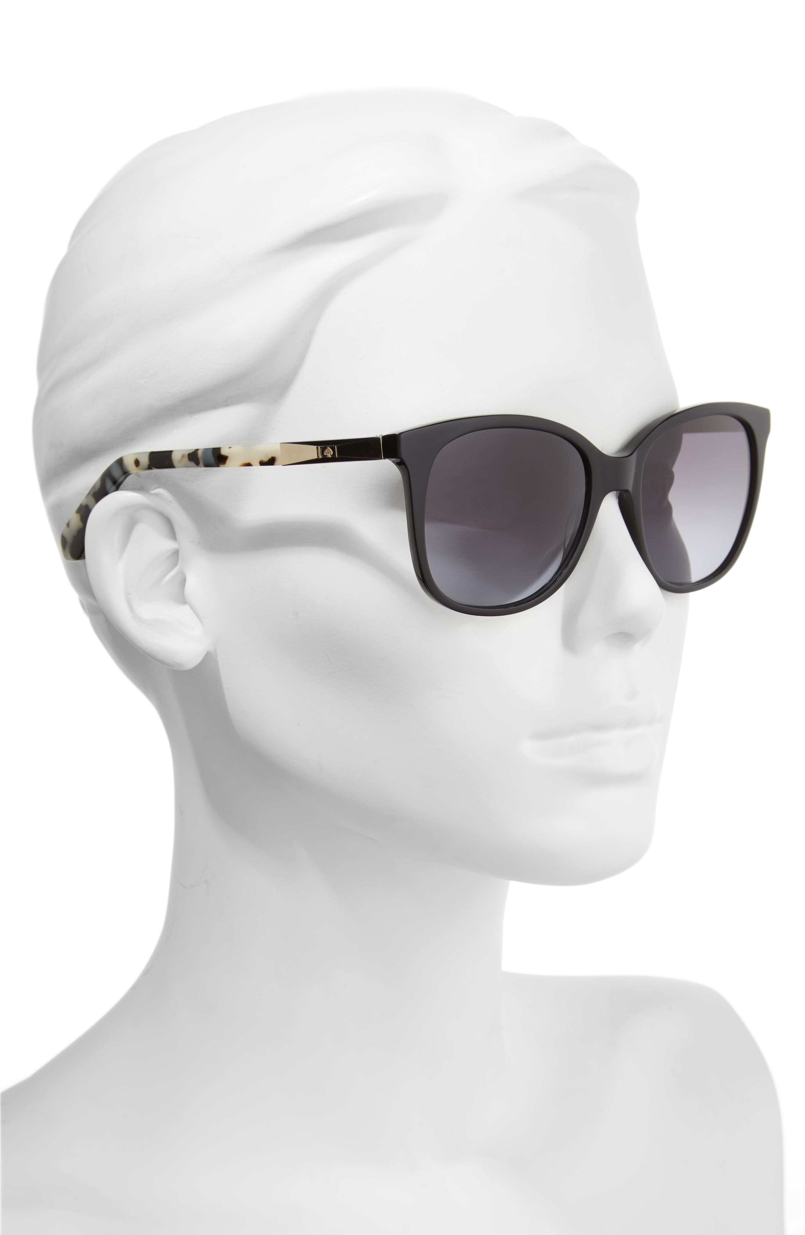 julieanna 54mm polarized sunglasses,                             Alternate thumbnail 2, color,                             001