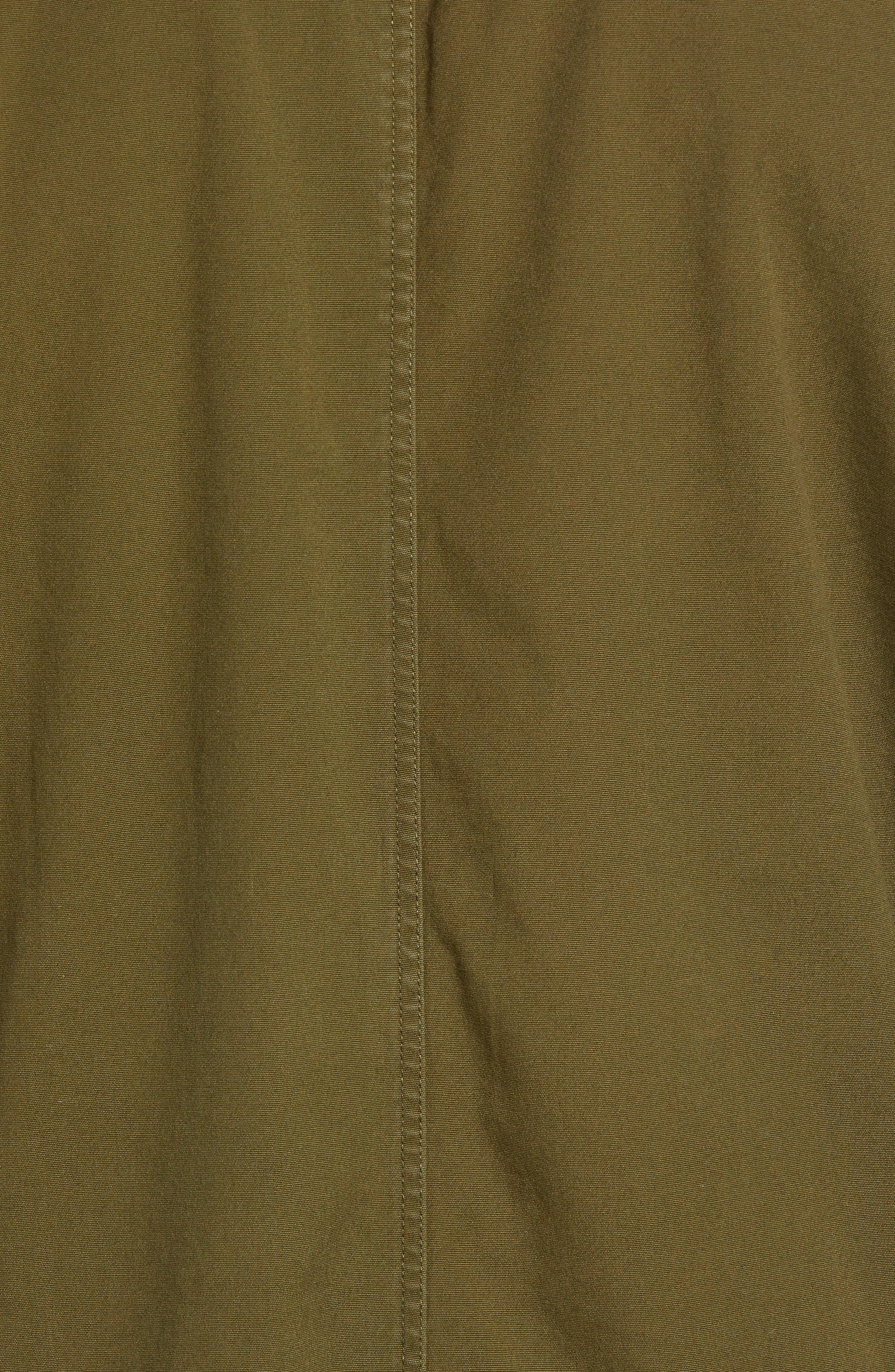 Lt. Dan Military Shirt Jacket,                             Alternate thumbnail 7, color,                             OLIVE CANVAS