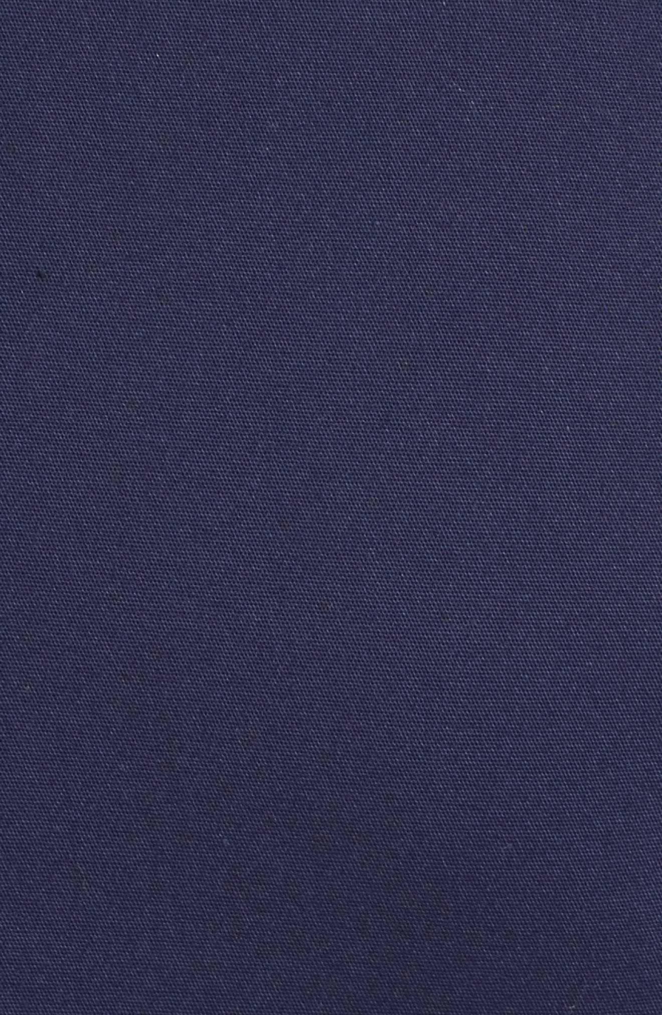Cotton Blend Sheath Dress,                             Alternate thumbnail 5, color,                             400