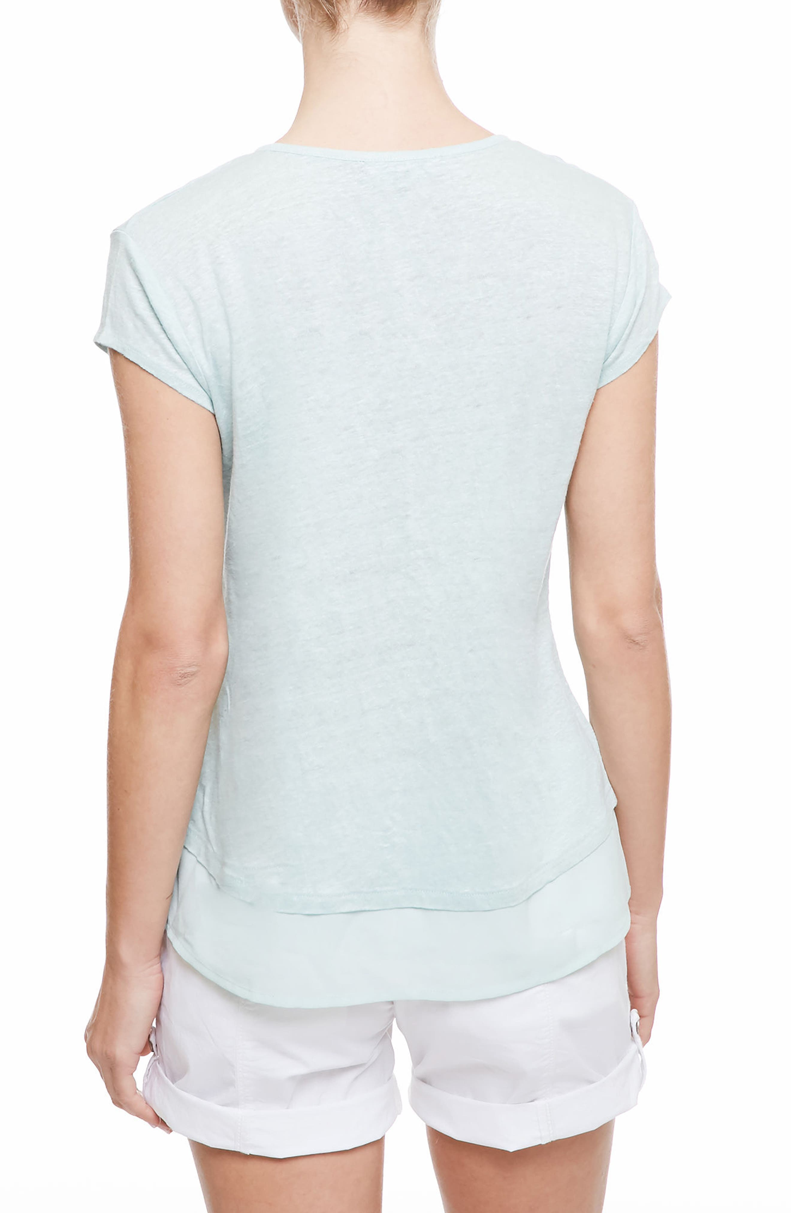 City Mix Layered Look Tee,                             Alternate thumbnail 37, color,