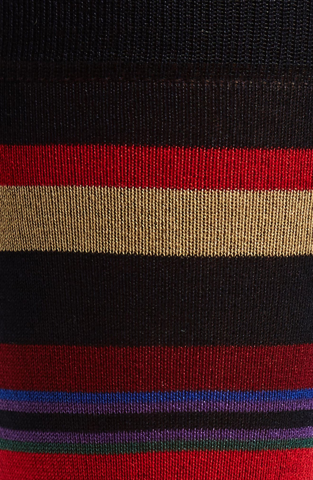 Stripe Crew Socks,                             Alternate thumbnail 2, color,                             410