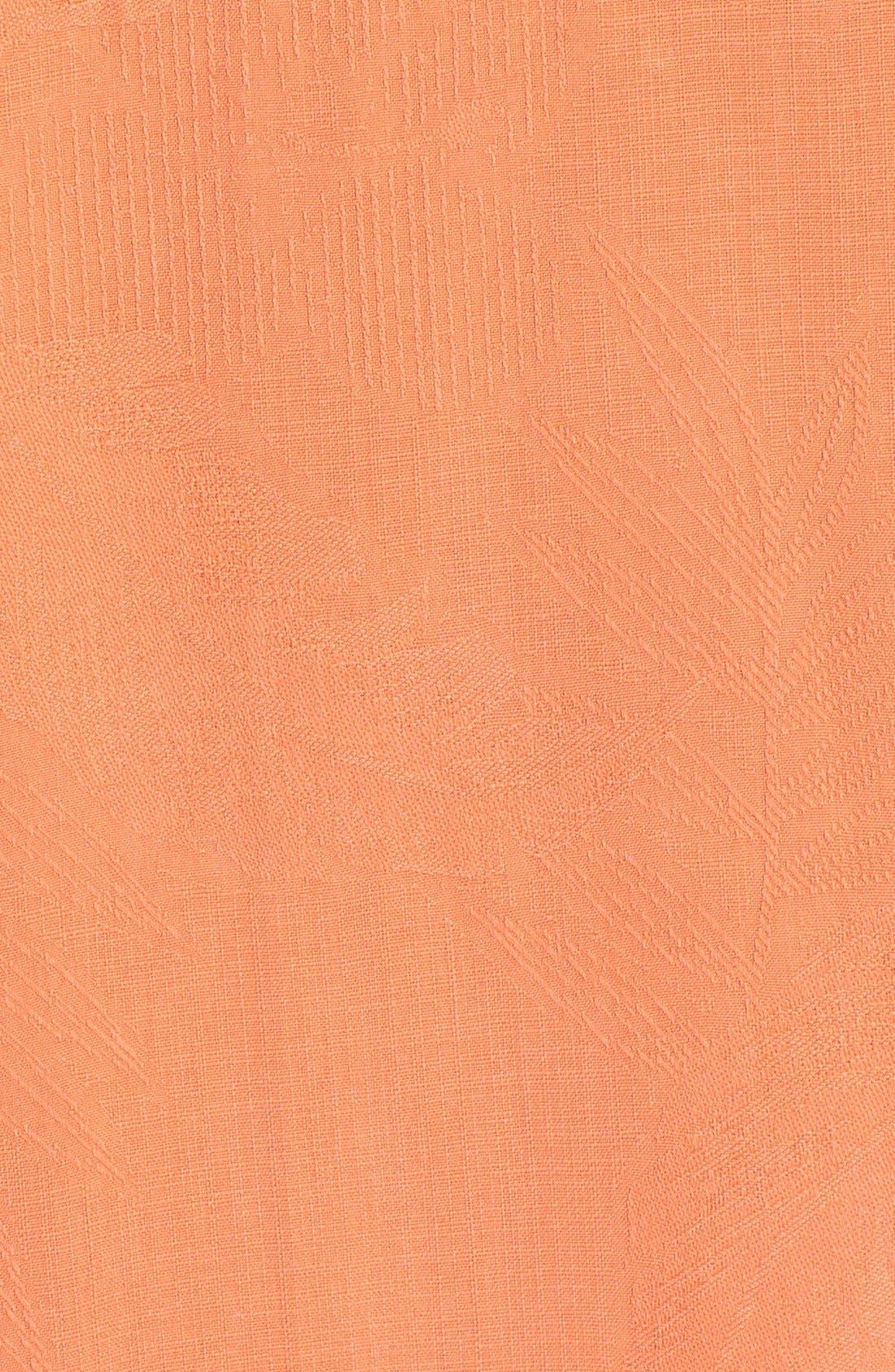 Rio Fronds Short Sleeve Silk Sport Shirt,                             Alternate thumbnail 78, color,