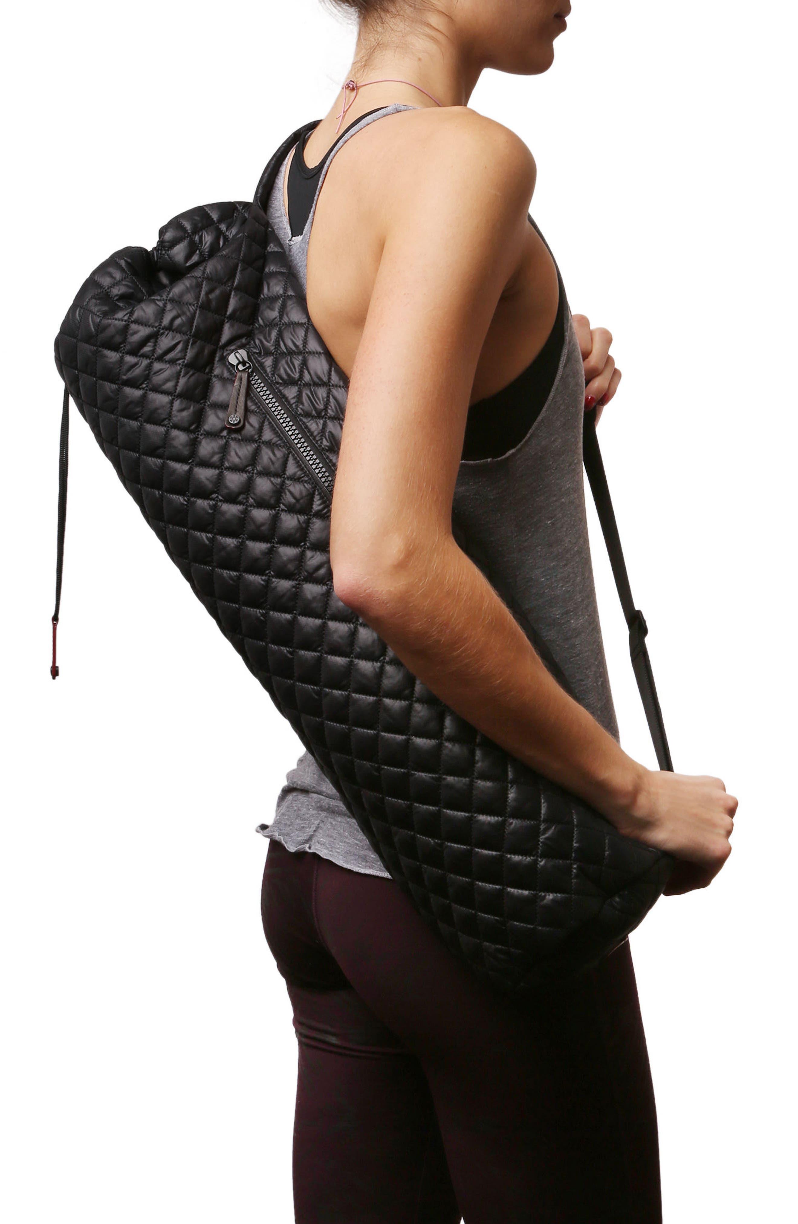 Yoga Mat Bag,                             Alternate thumbnail 3, color,                             001