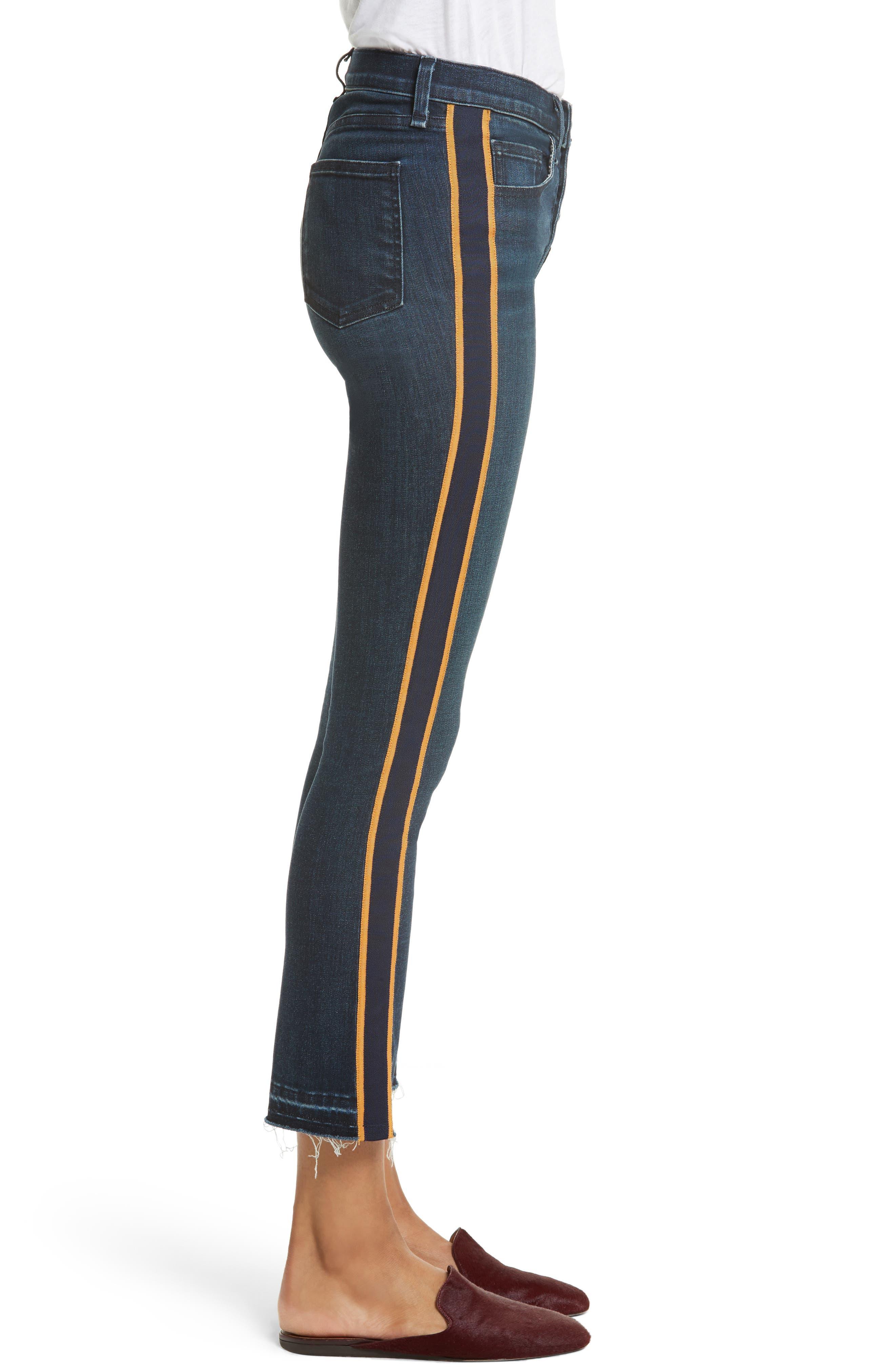 VERONICA BEARD,                             Carolyn Baby Boot Crop Jeans,                             Alternate thumbnail 3, color,                             412