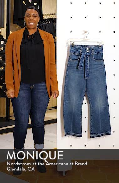 Marlene Corset Waist Straight Leg Jeans, sales video thumbnail