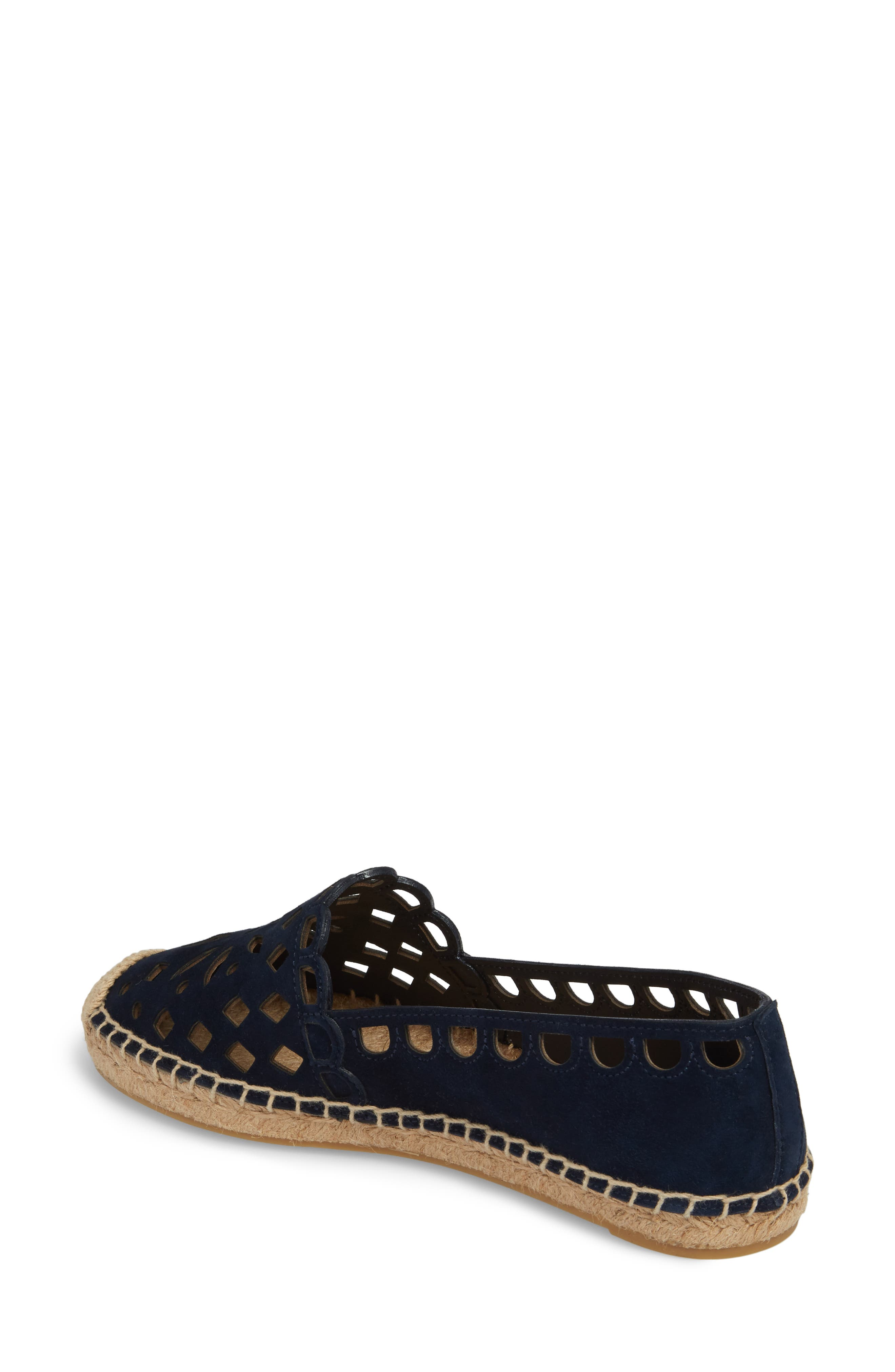 May Perforated Espadrille Flat,                             Alternate thumbnail 2, color,                             430