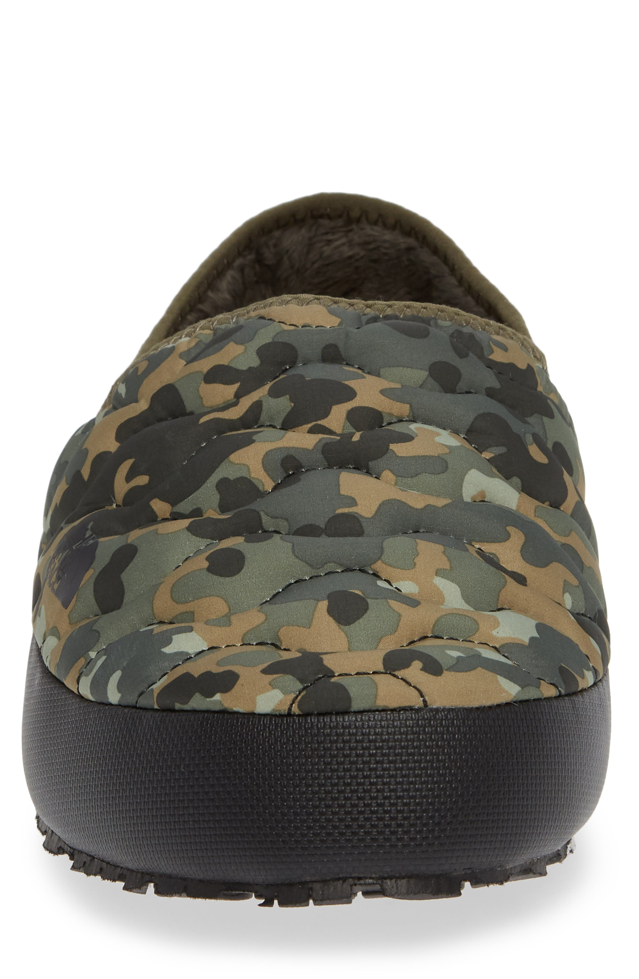 ThermoBall<sup>™</sup> Water-Resistant Traction slipper,                             Alternate thumbnail 4, color,                             TUMBLEWEED GREEN