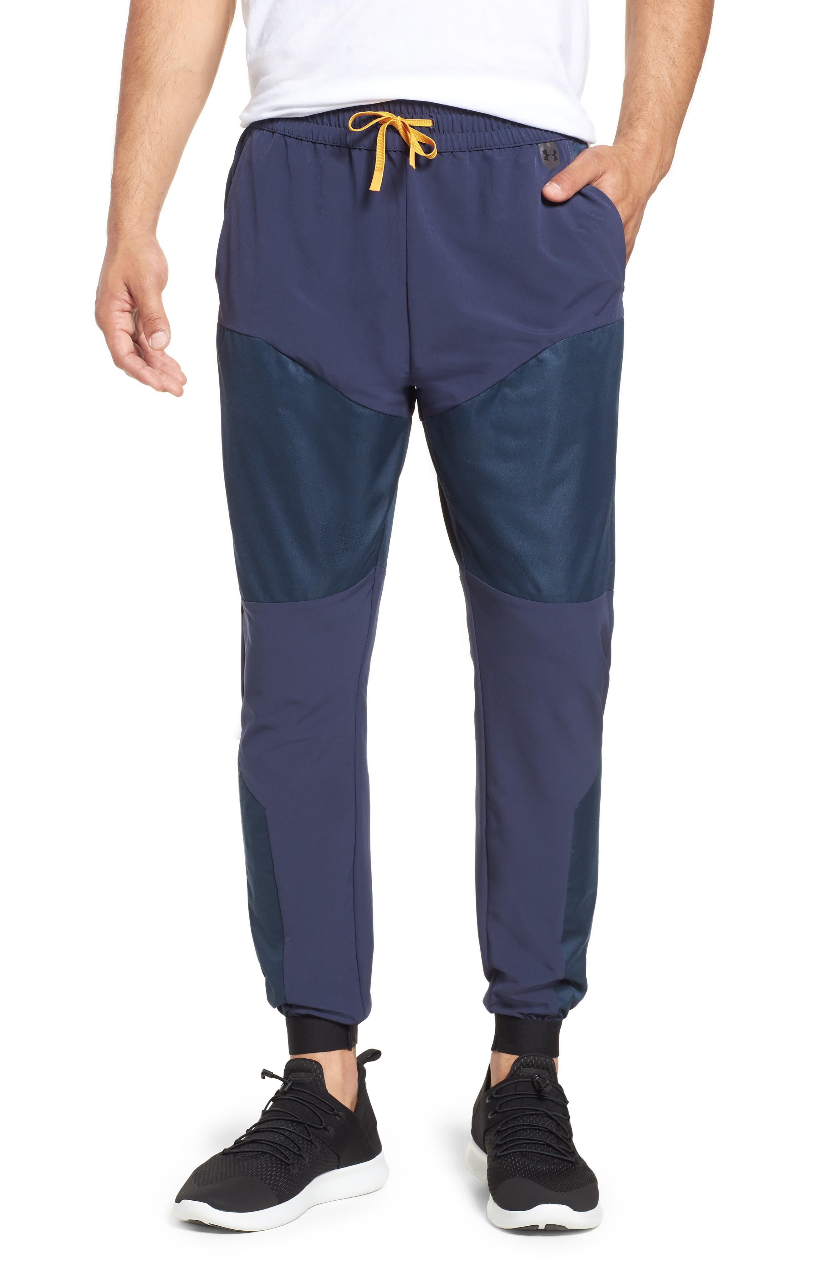 Unstoppable GORE<sup>®</sup> WINDSTOPPER<sup>®</sup> Jogger Pants,                         Main,                         color, MIDSUMMER NIGHT / REFLECTIVE