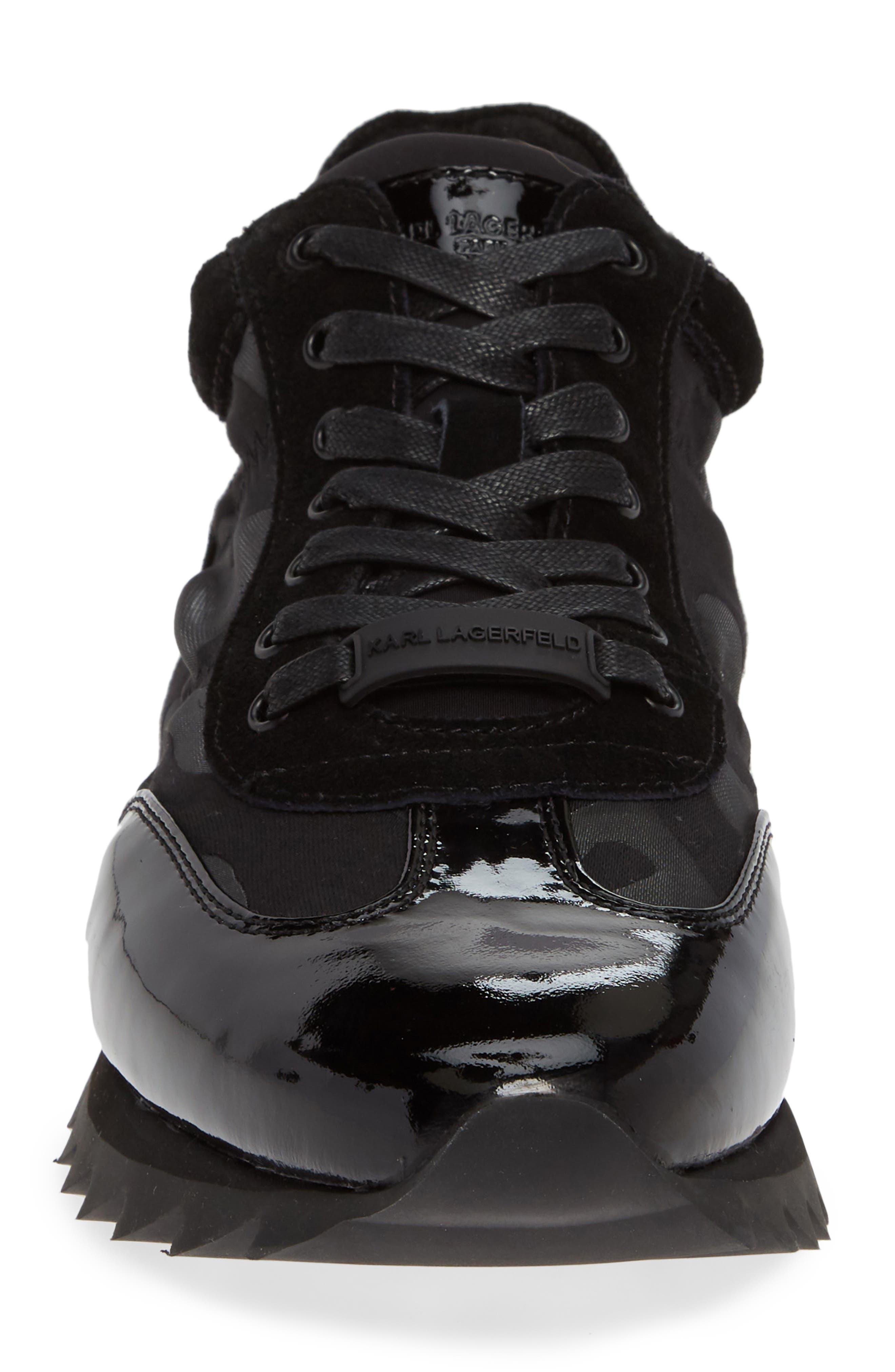 Camo Print Sneaker,                             Alternate thumbnail 4, color,                             001