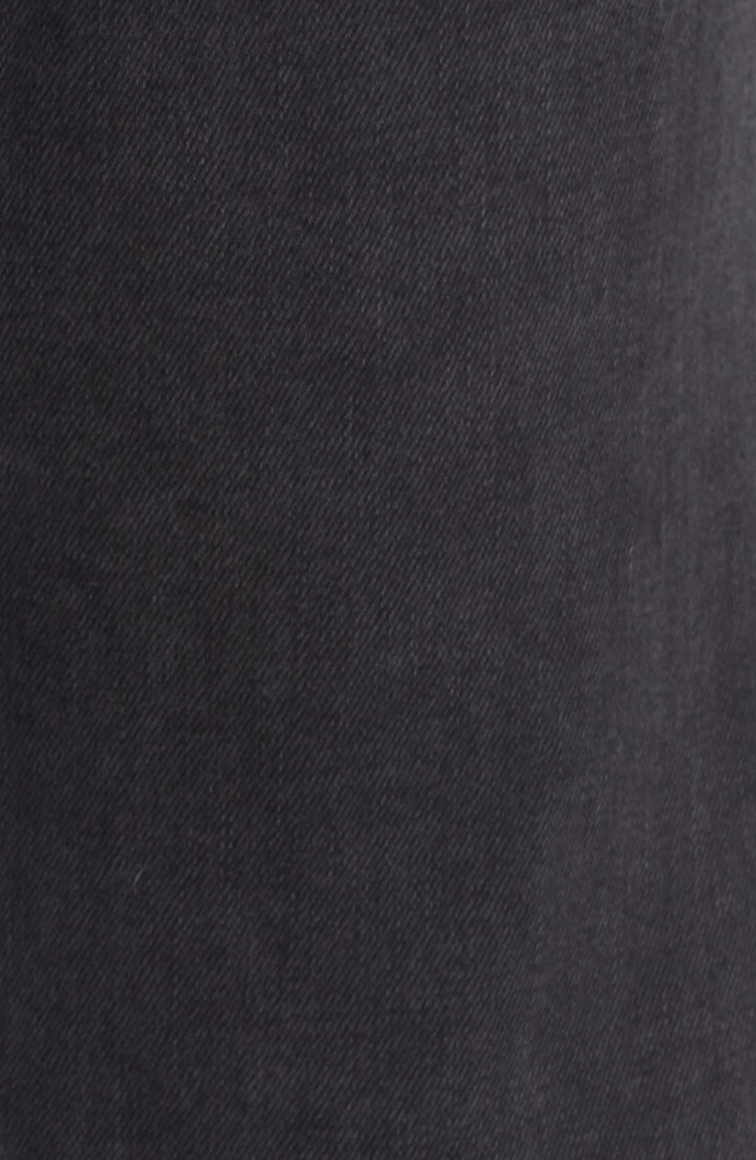 'L'Homme' Skinny Fit Jeans,                             Alternate thumbnail 2, color,                             FADE TO GREY
