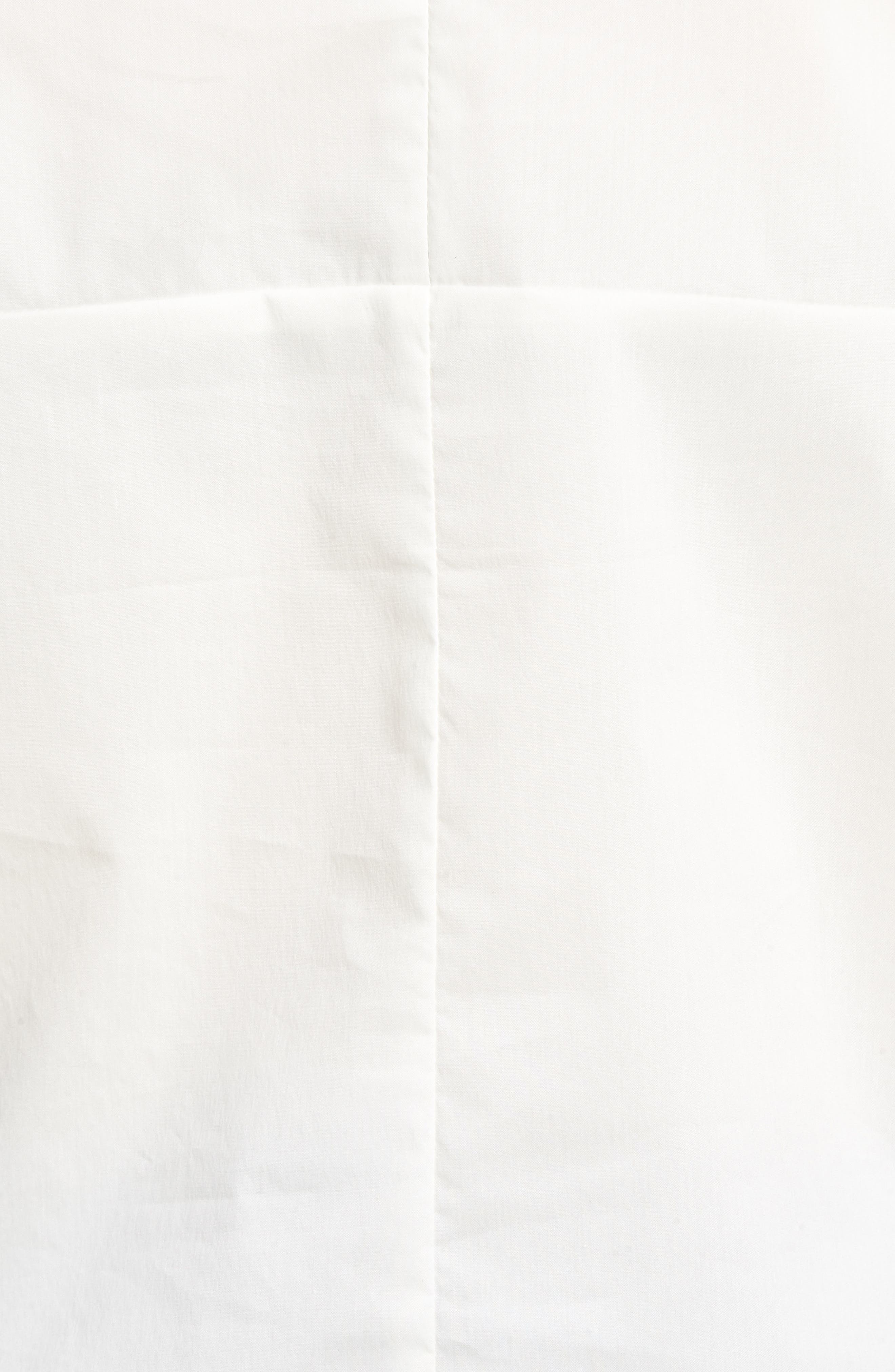 Bishop + Young Front Tie Blouse,                             Alternate thumbnail 6, color,                             WHITE