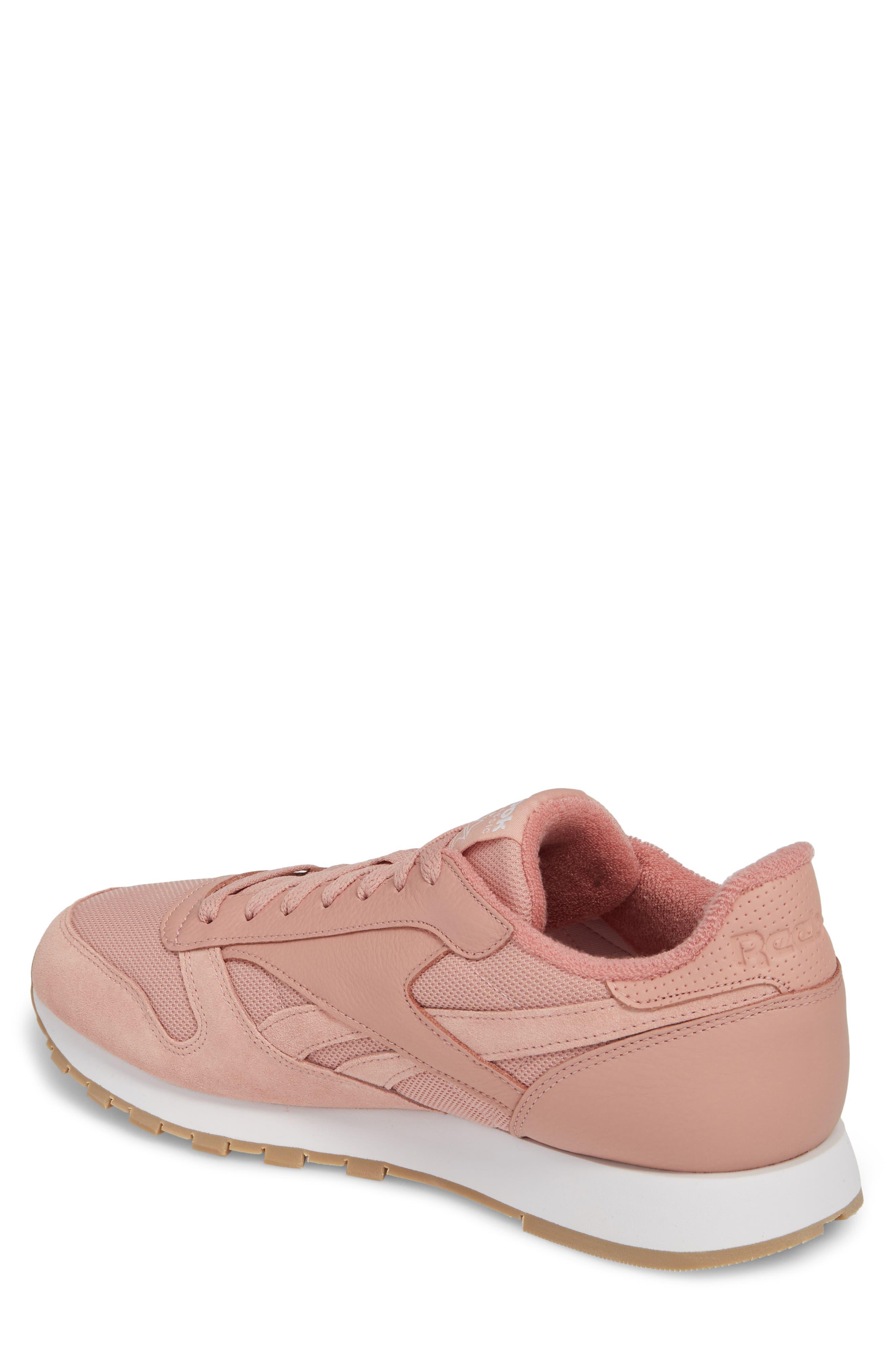 ESTL Classic Leather Sneaker,                             Alternate thumbnail 2, color,                             CHALK PINK/ WHITE