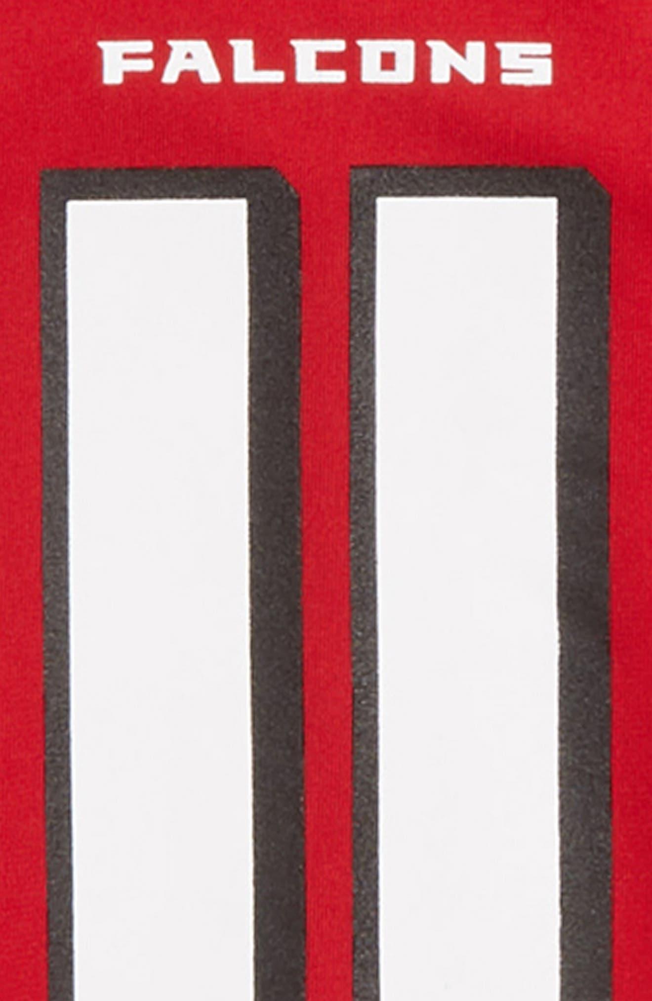 NFL Logo Atlanta Falcons Julio Jones Jersey,                             Alternate thumbnail 3, color,                             RED