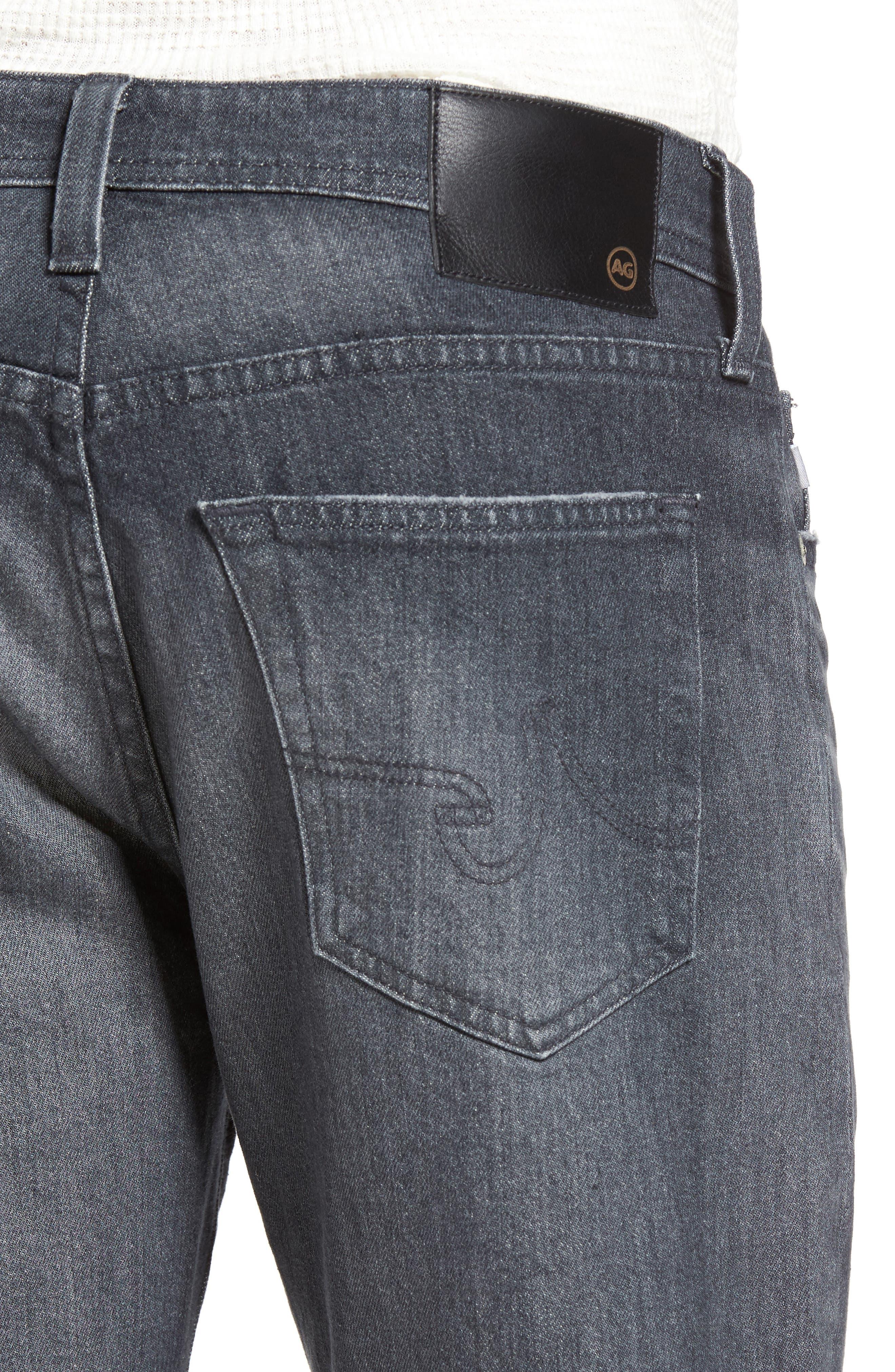 Everett Slim Straight Leg Jeans,                             Alternate thumbnail 4, color,                             023