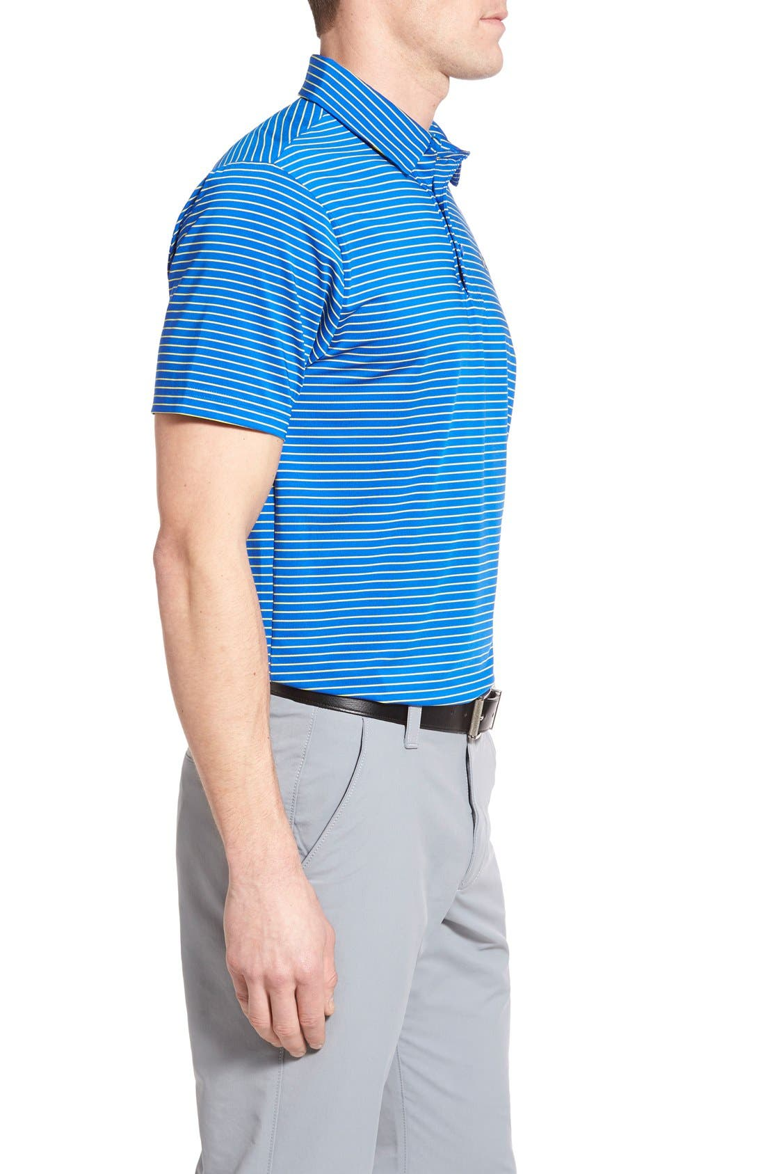 'Playoff' Loose Fit Short Sleeve Polo,                             Alternate thumbnail 83, color,
