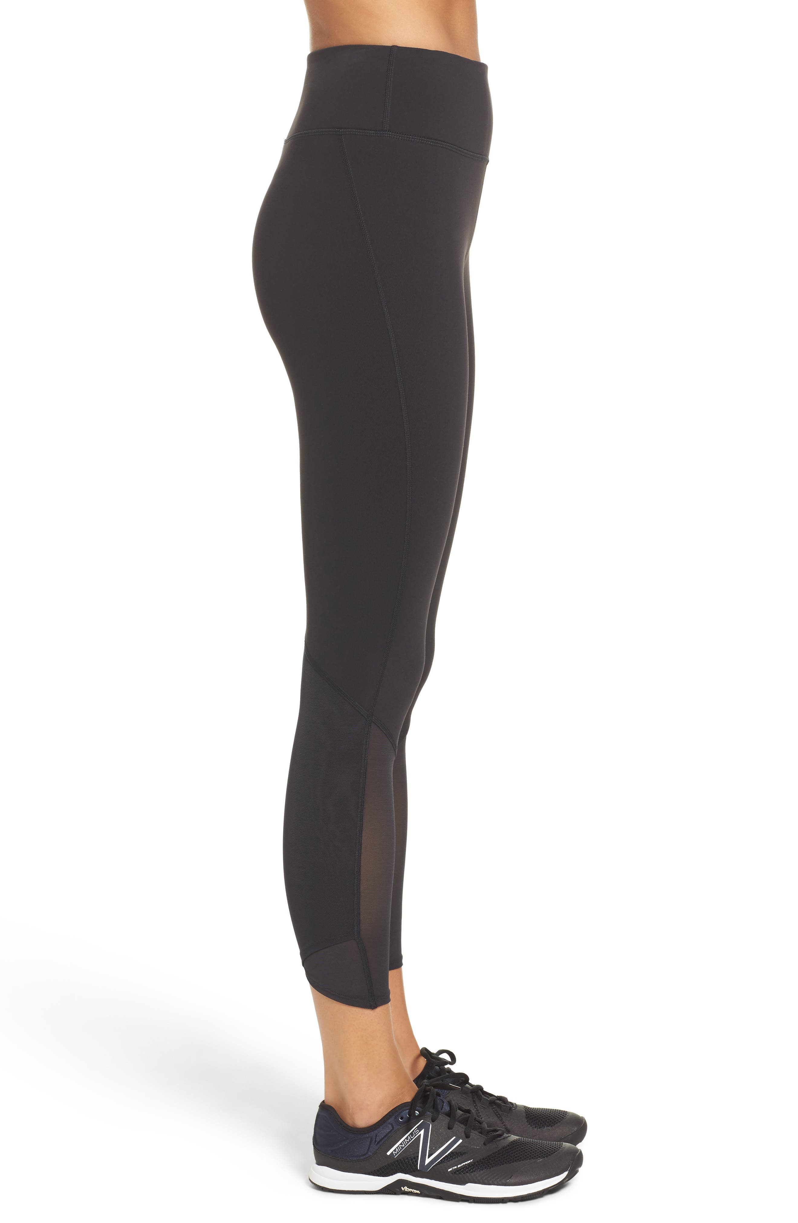 Elixir High Waist Ankle Leggings,                             Alternate thumbnail 3, color,