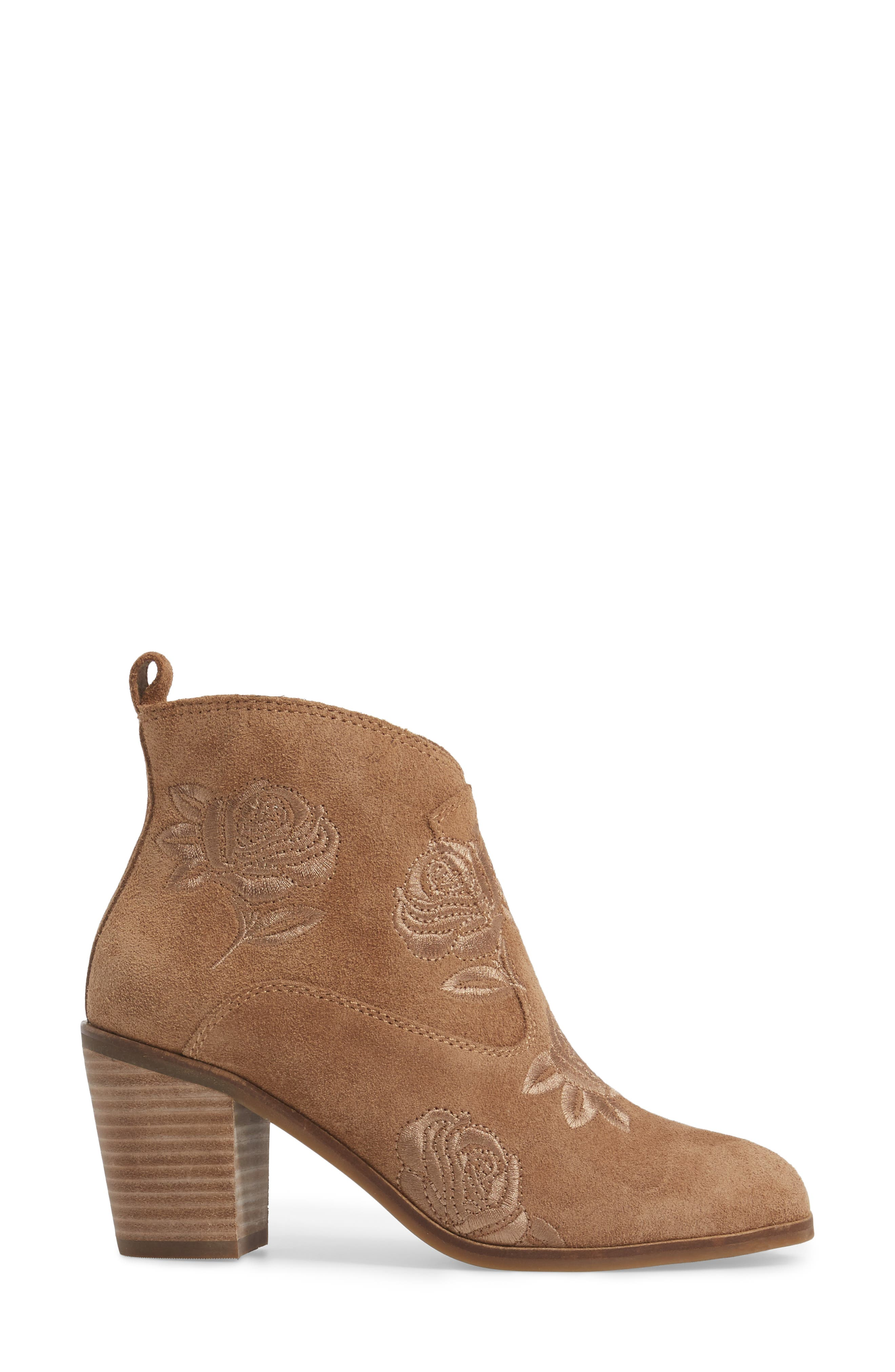 Pexton Embroidered Bootie,                             Alternate thumbnail 11, color,