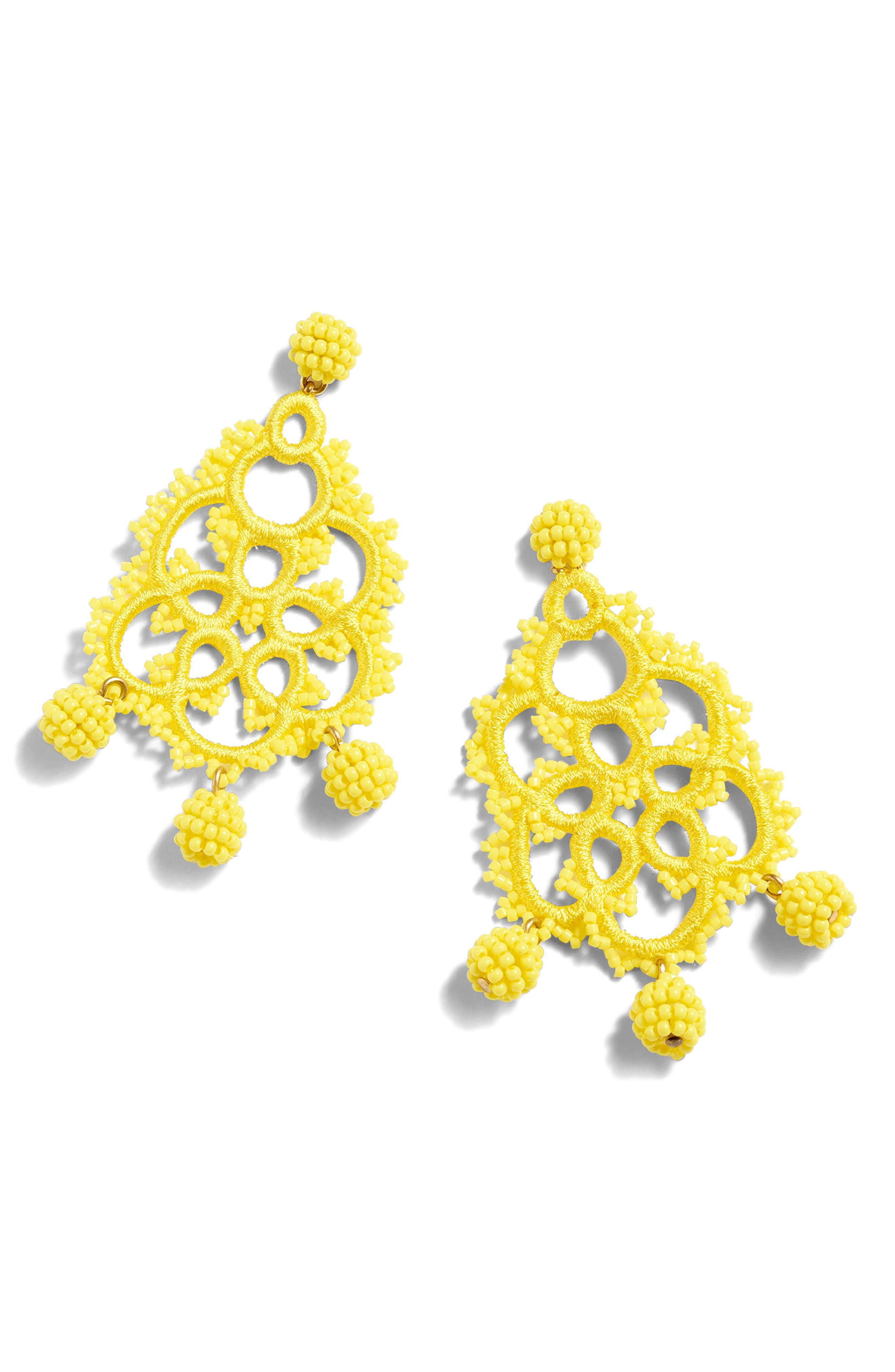 Bead & Embroidery Earrings,                             Alternate thumbnail 11, color,