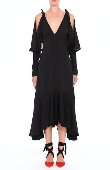 Open Back Cold Shoulder Dress, video thumbnail