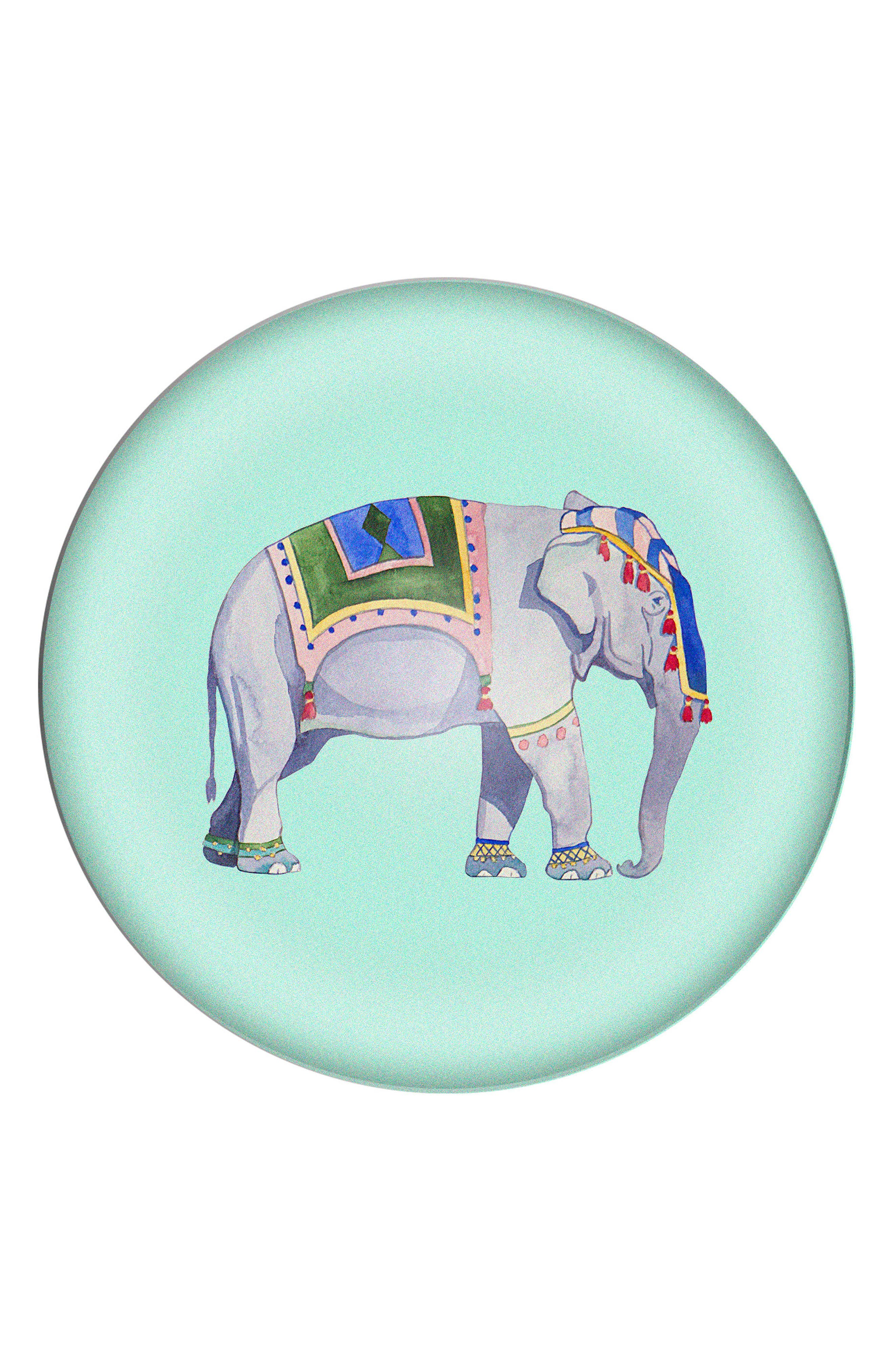 Elephant Domed Glass Paperweight,                             Main thumbnail 1, color,                             400
