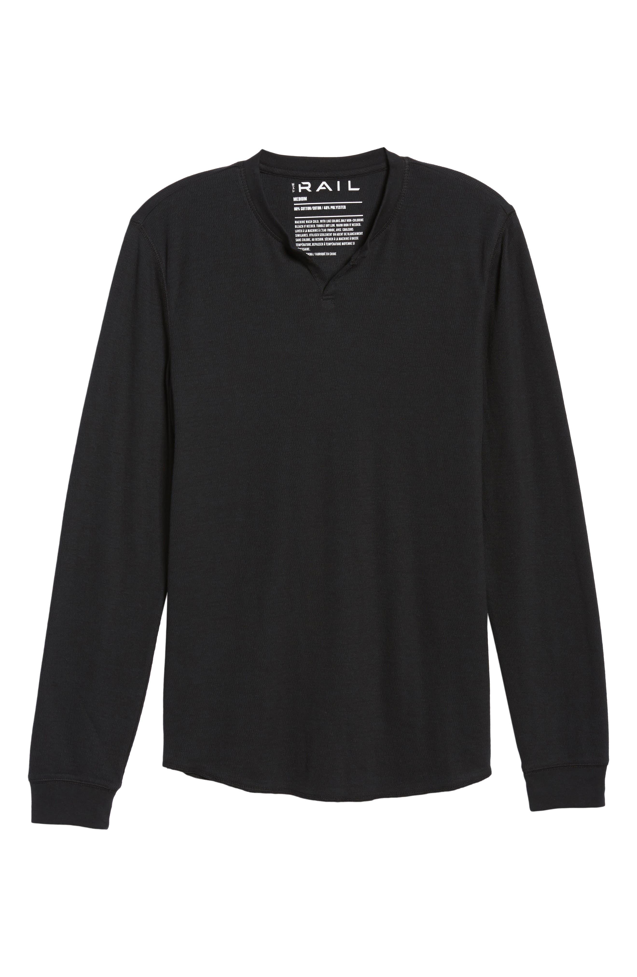 Notch Neck Thermal T-Shirt,                             Alternate thumbnail 37, color,